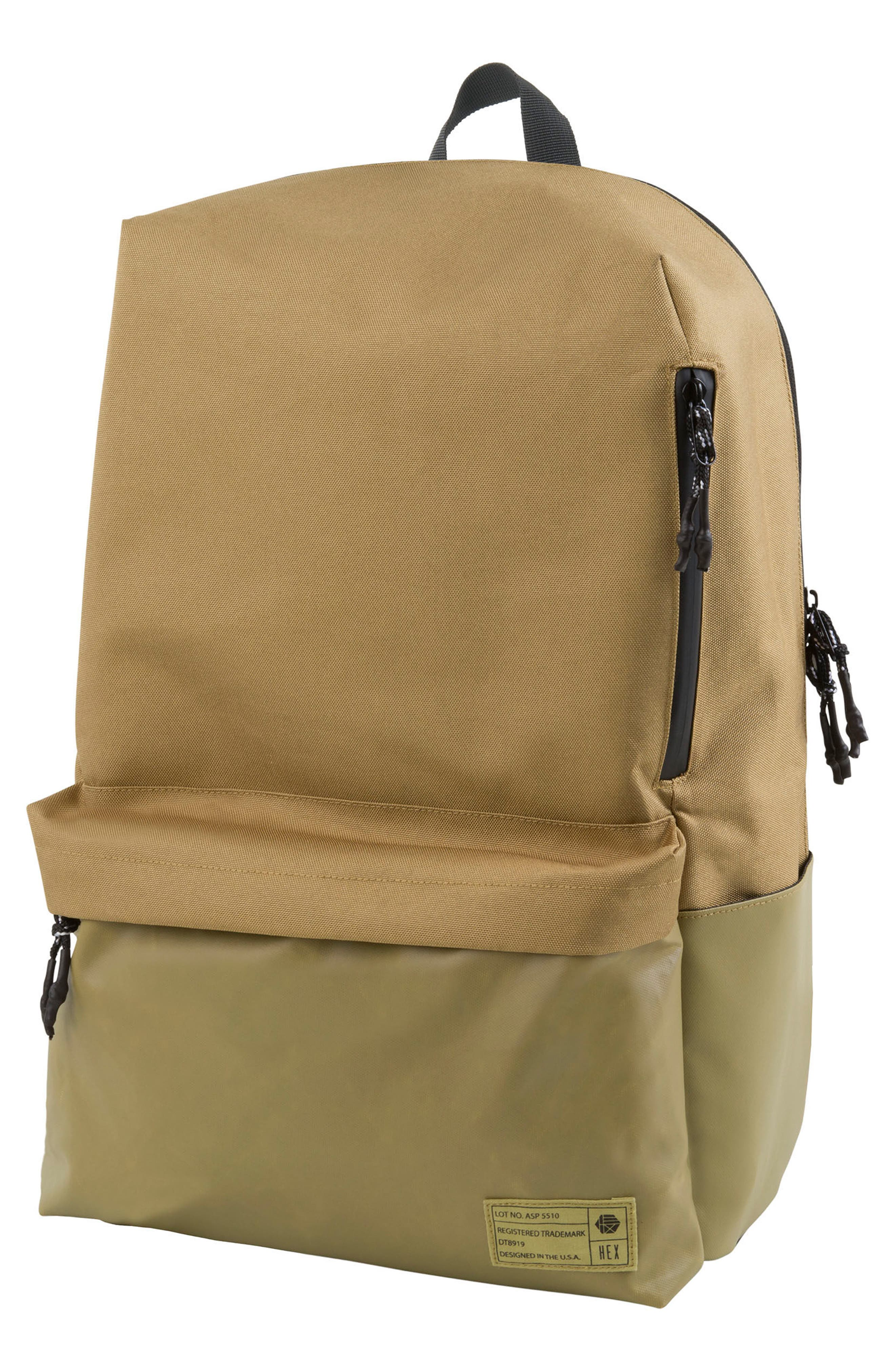 Exile Backpack,                         Main,                         color, Tan