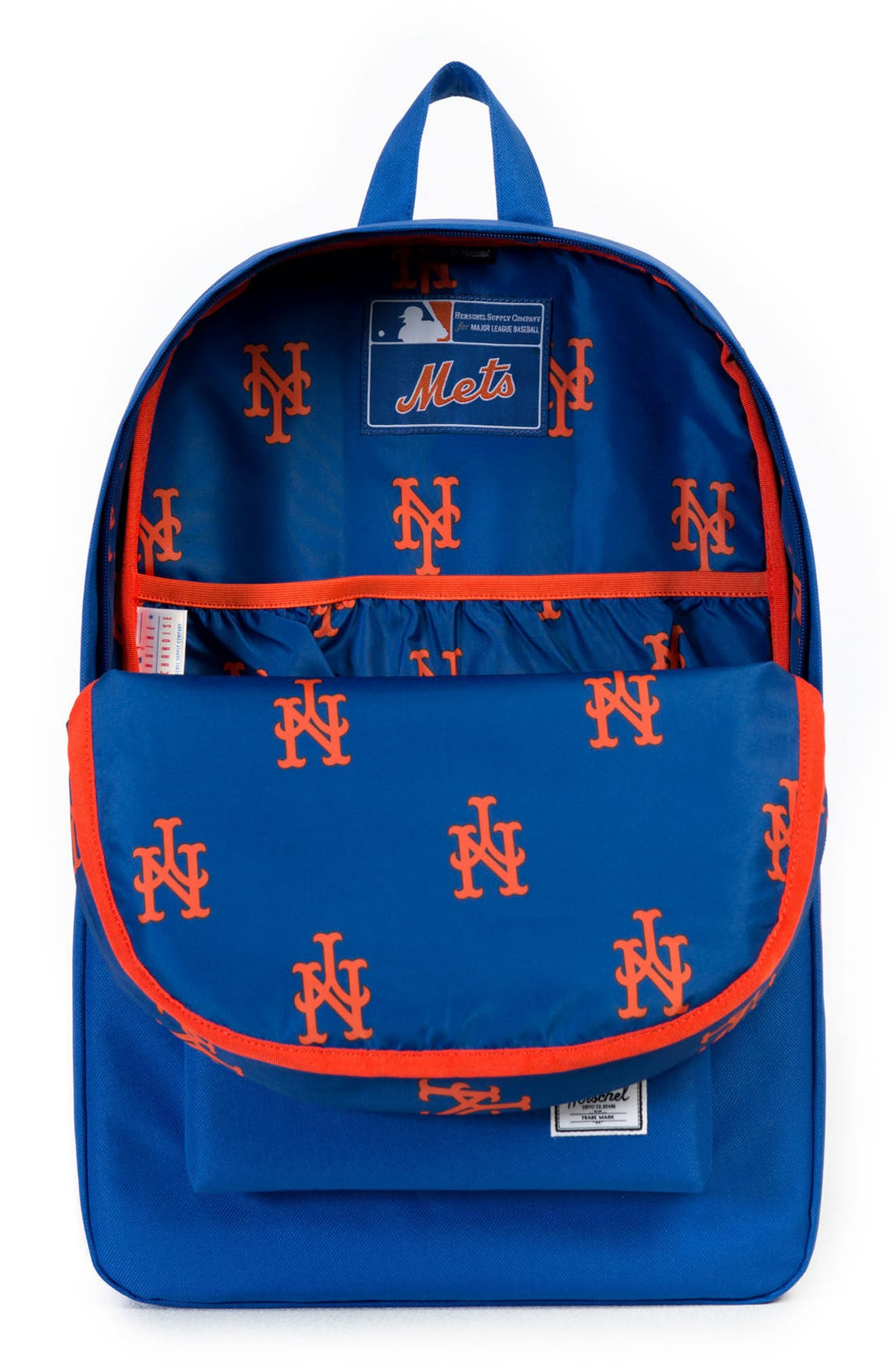 Heritage - MLB National League Backpack,                             Alternate thumbnail 3, color,                             New York Mets