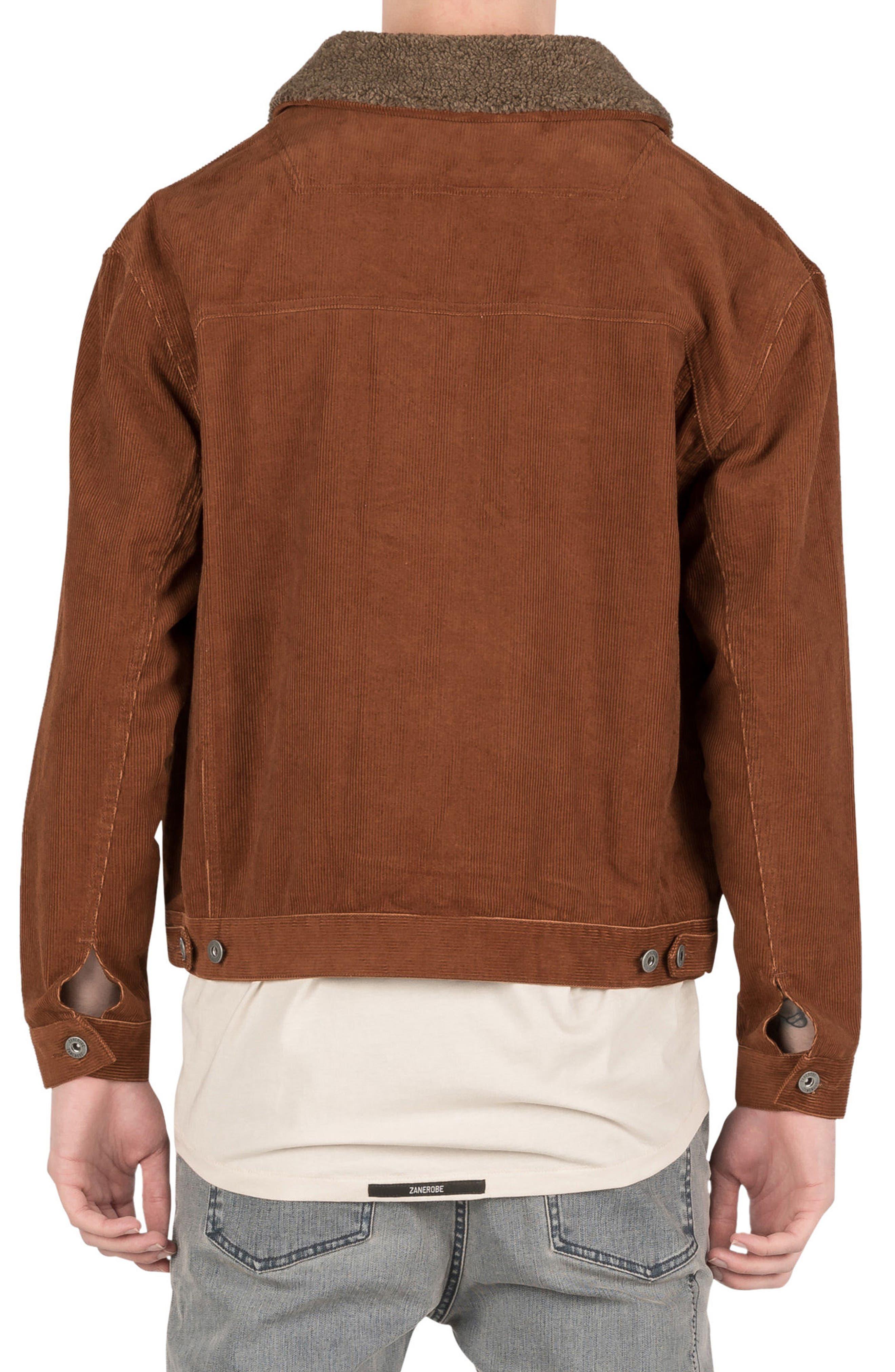 Snitch Corduroy Jacket,                             Alternate thumbnail 2, color,                             Dark Bronze