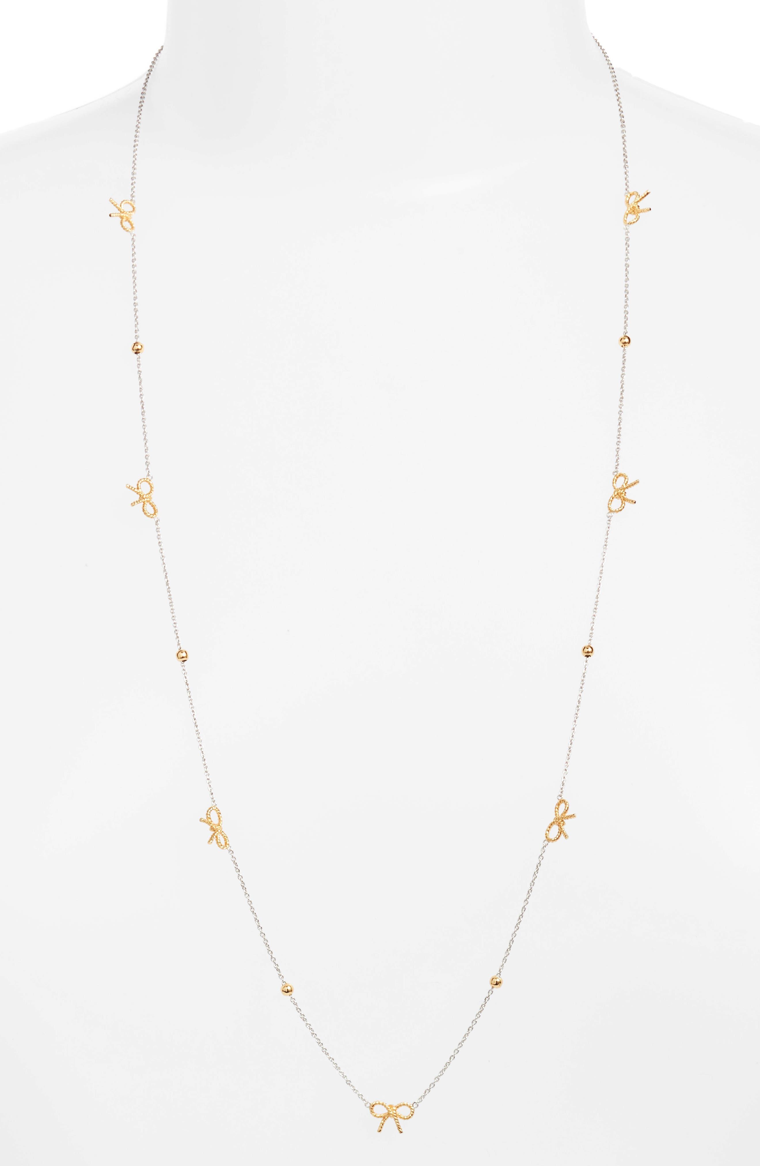 Main Image - Olivia Burton Bow Chain Necklace