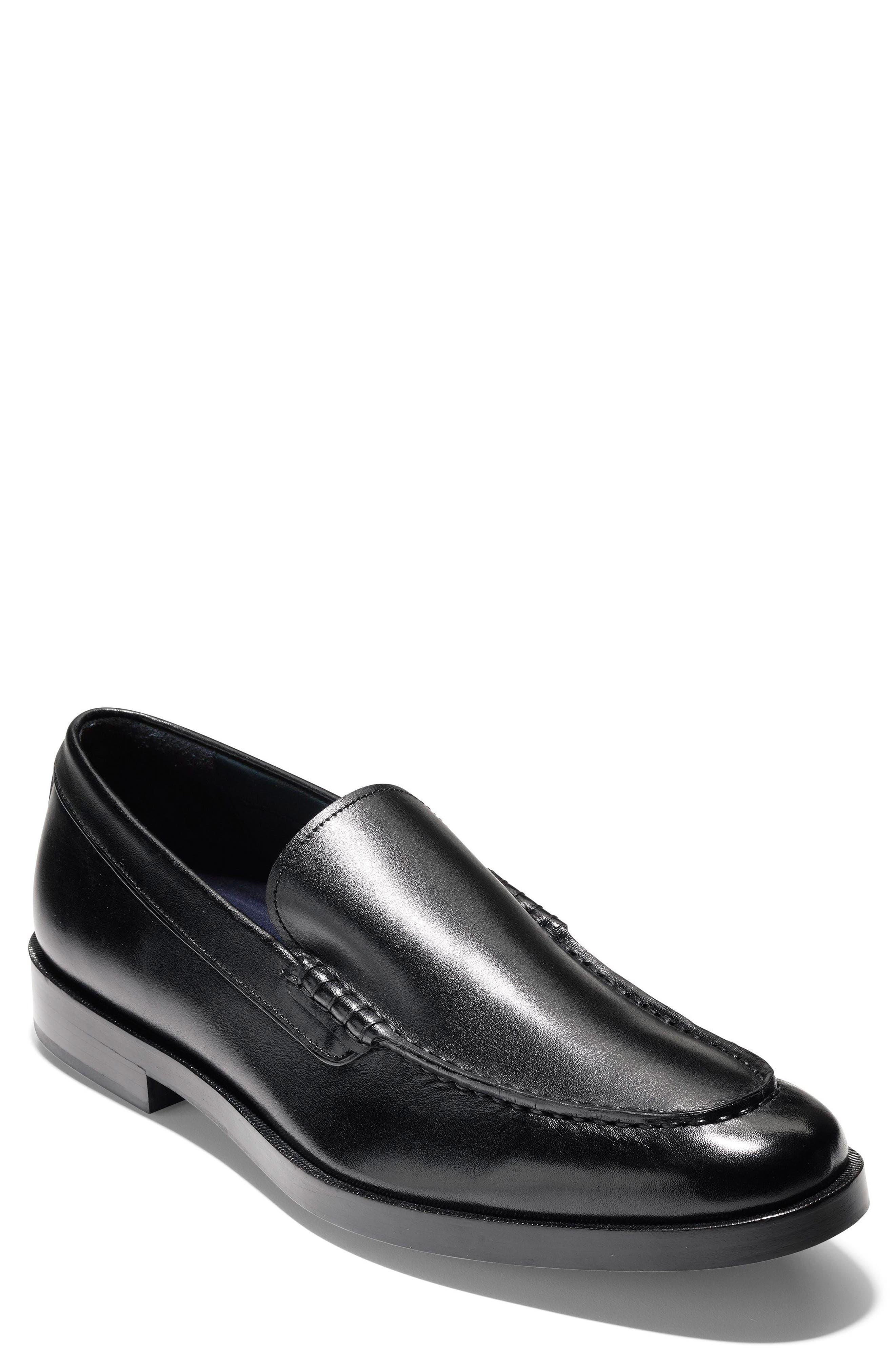 Hamilton Grand Venetian Loafer,                         Main,                         color, Black