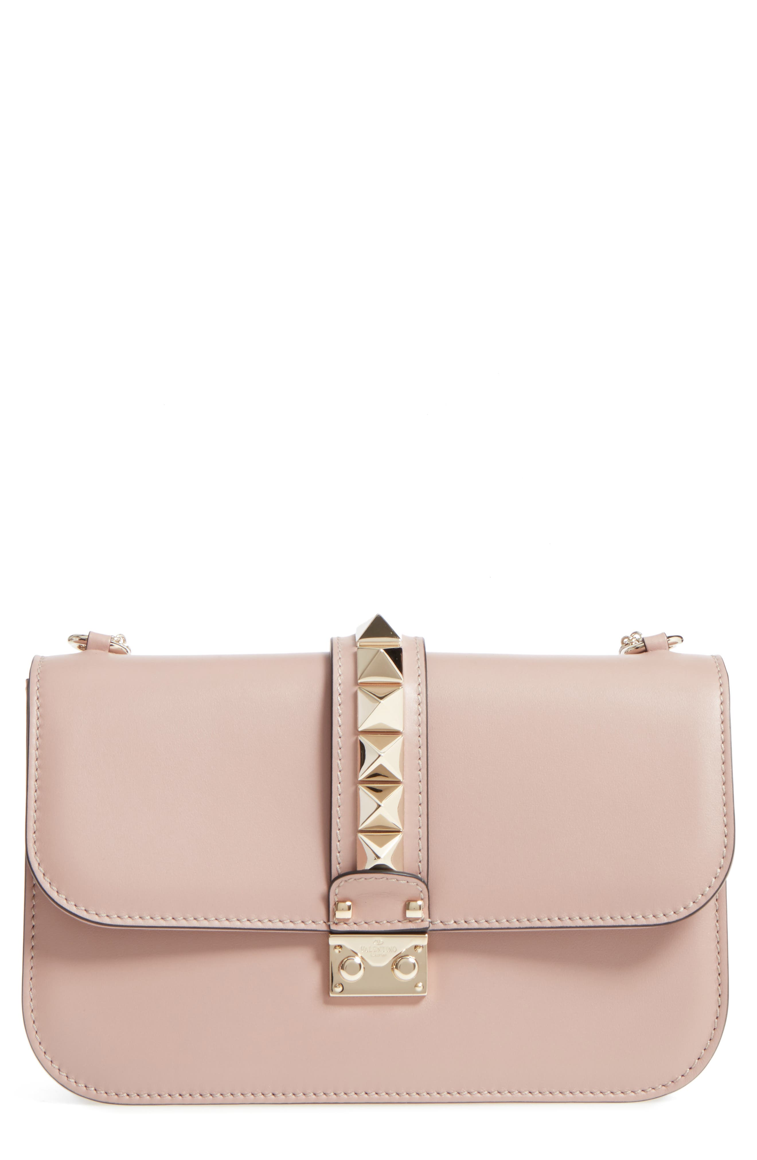 Valentino  'MEDIUM LOCK' SHOULDER BAG - BEIGE