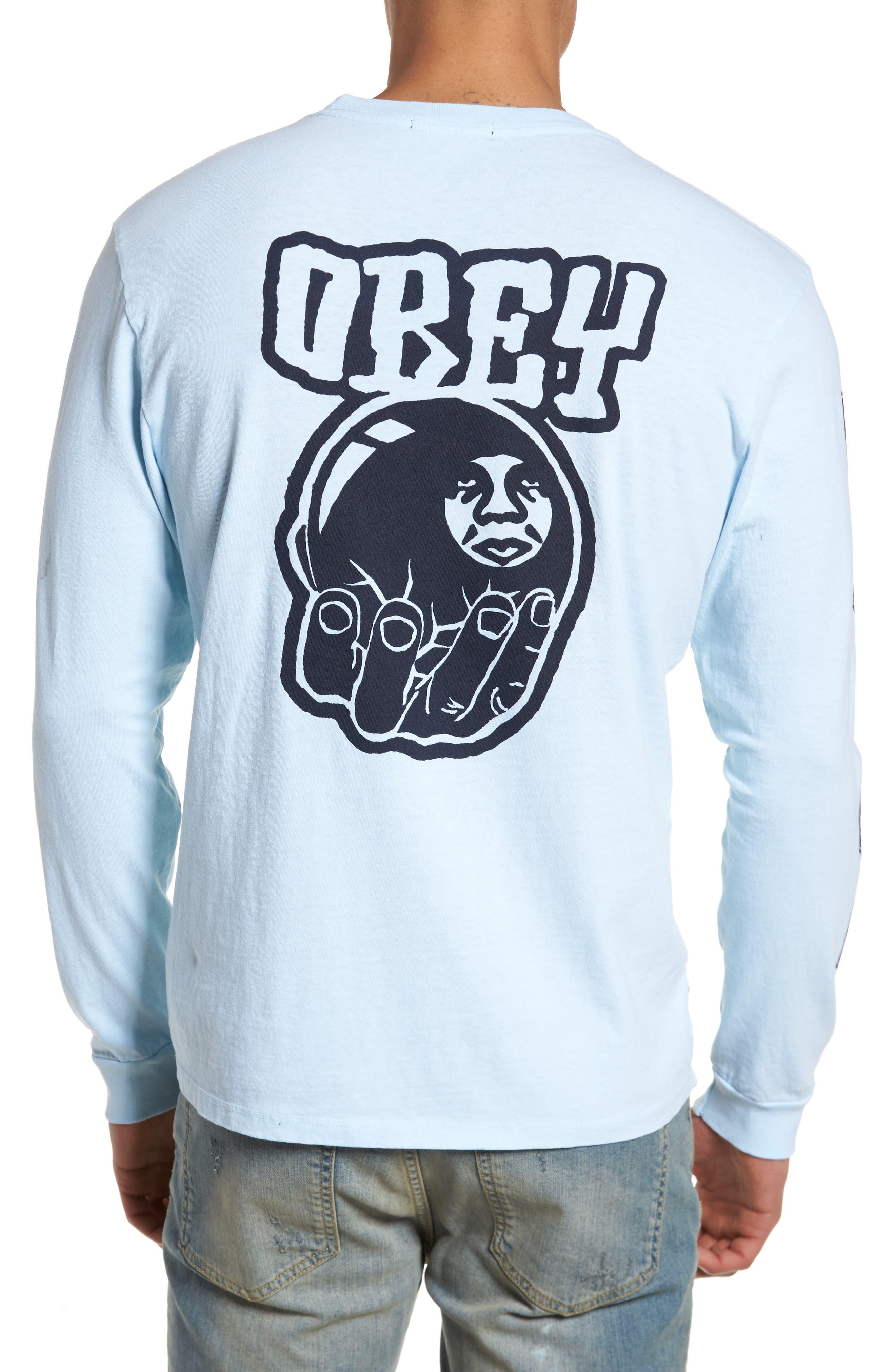 Unwritten Future Graphic T-Shirt,                             Alternate thumbnail 2, color,                             Dusty Blue