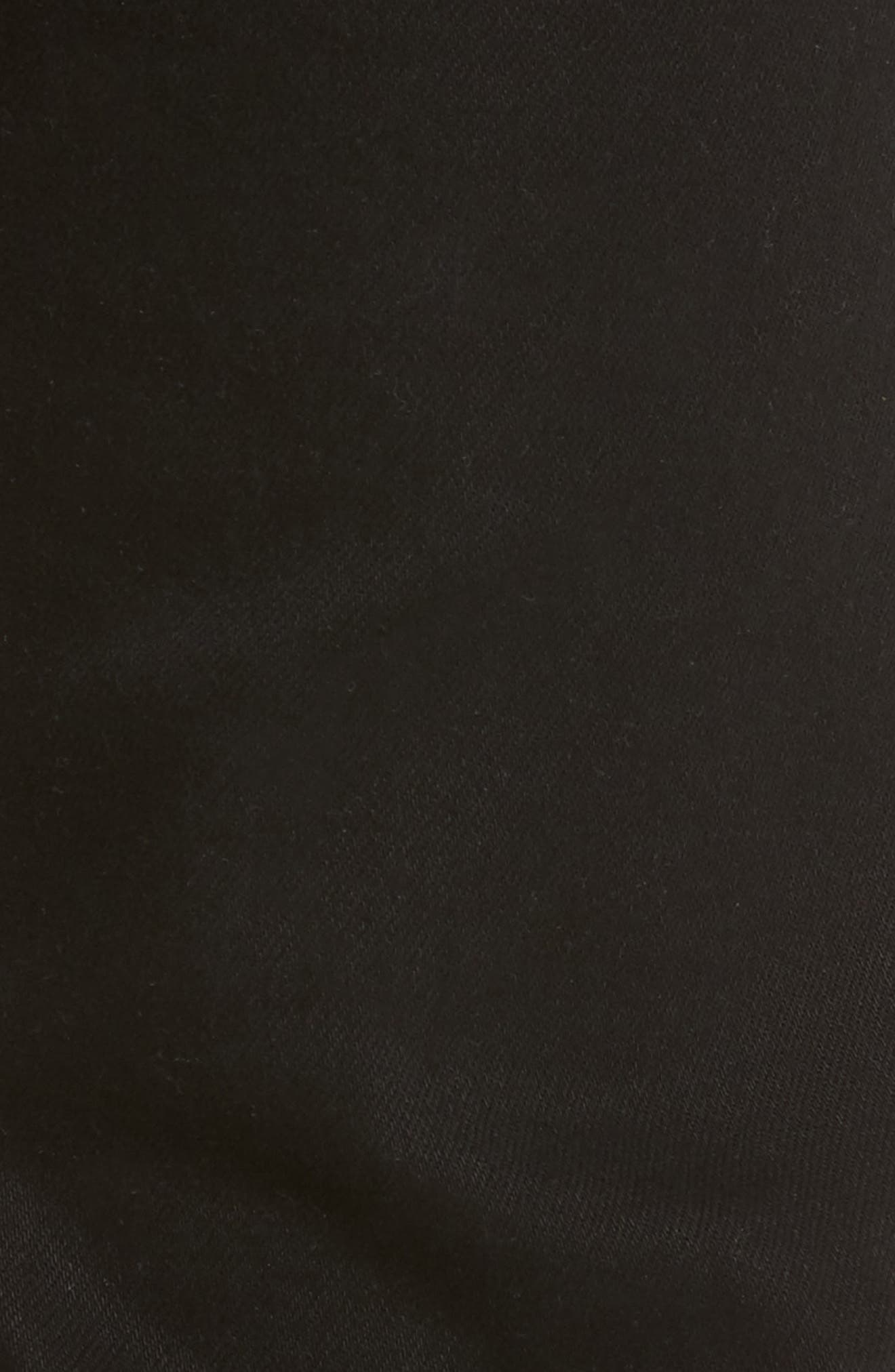 L'Homme Skinny Fit Jeans,                             Alternate thumbnail 5, color,                             Noir