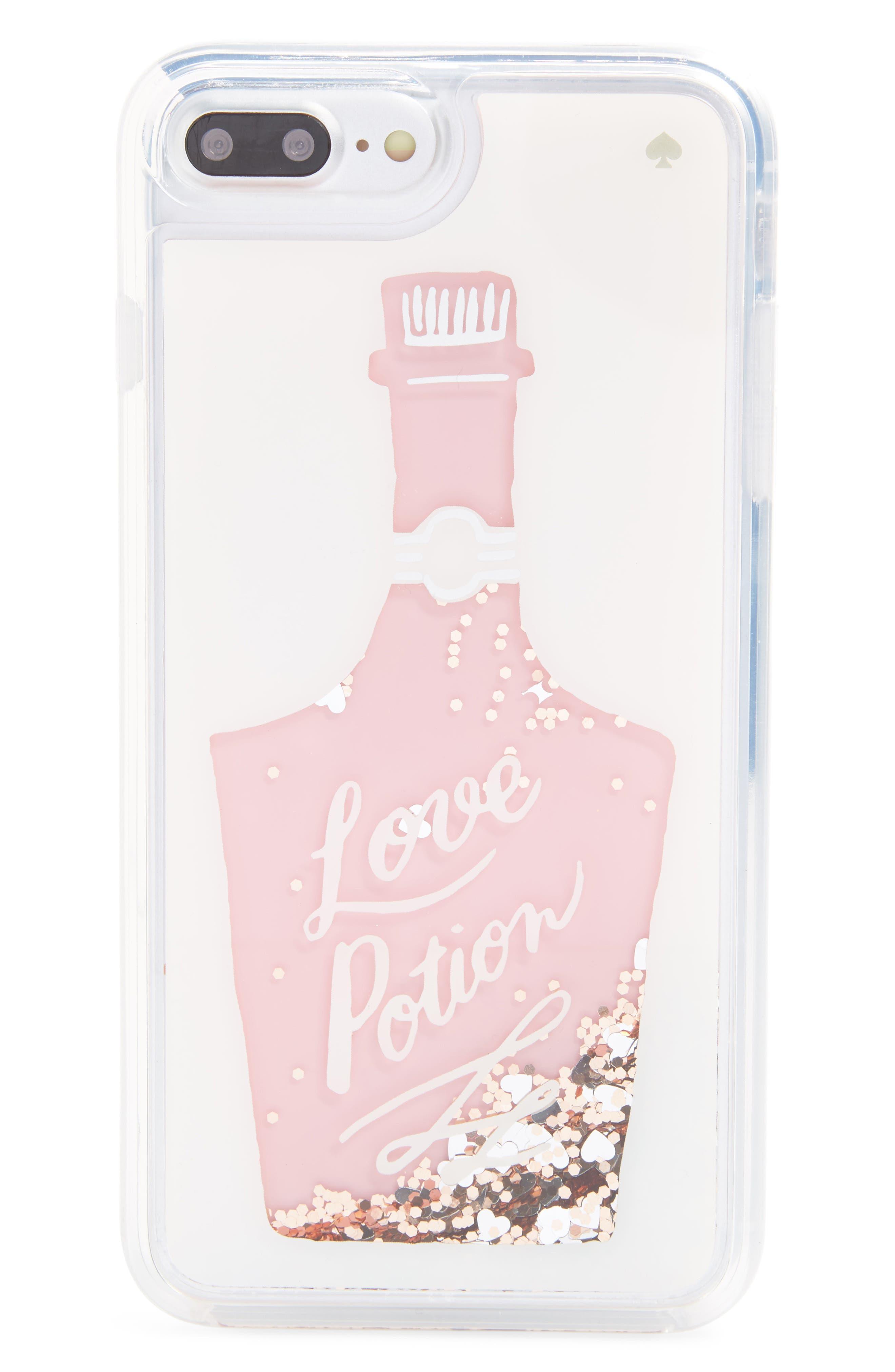 kate spade new york glitter love potion iPhone 7/8 & 7/8 Plus case