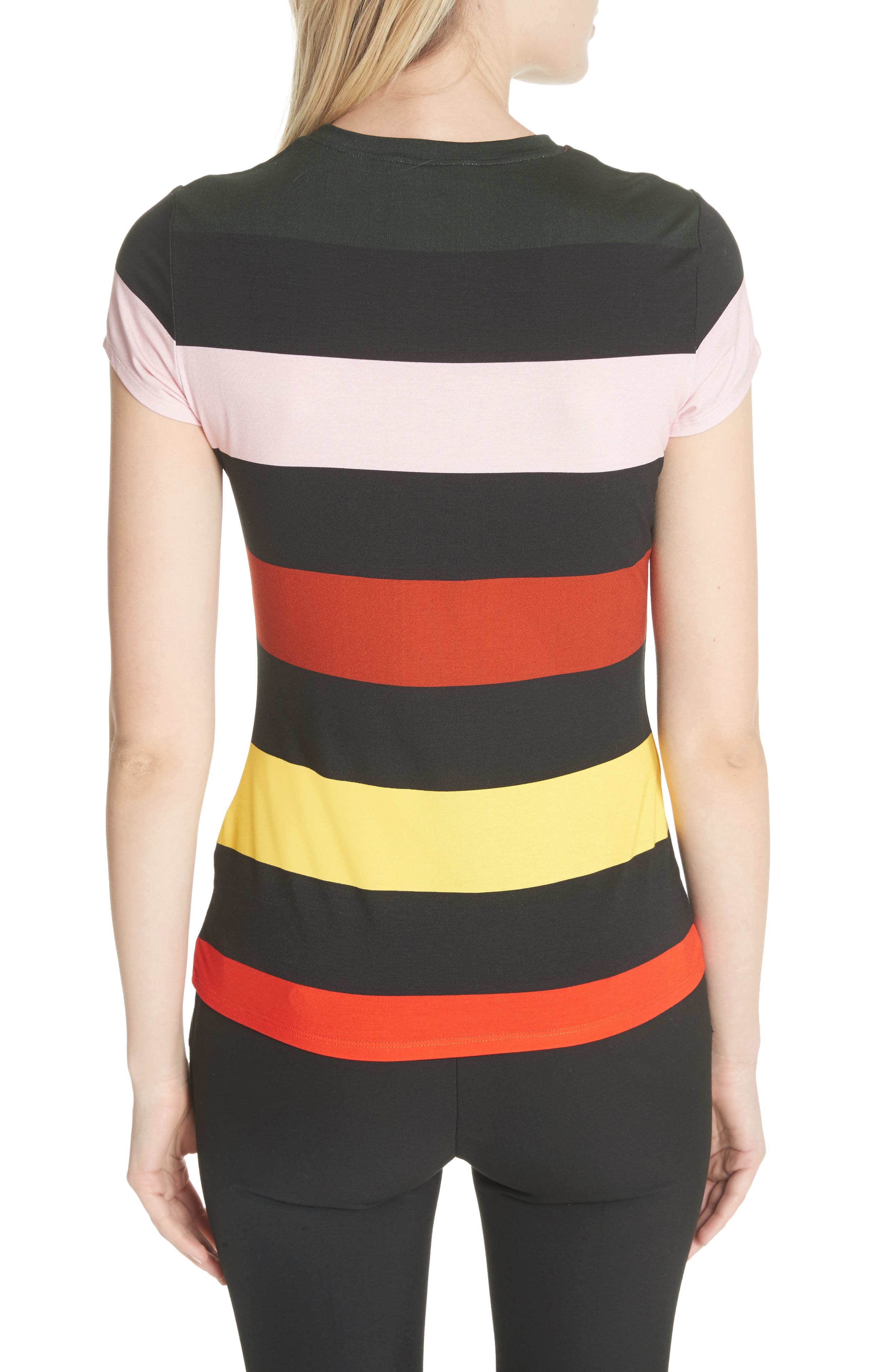Alternate Image 2  - Ted Baker London Cruise Stripe Fitted Tee