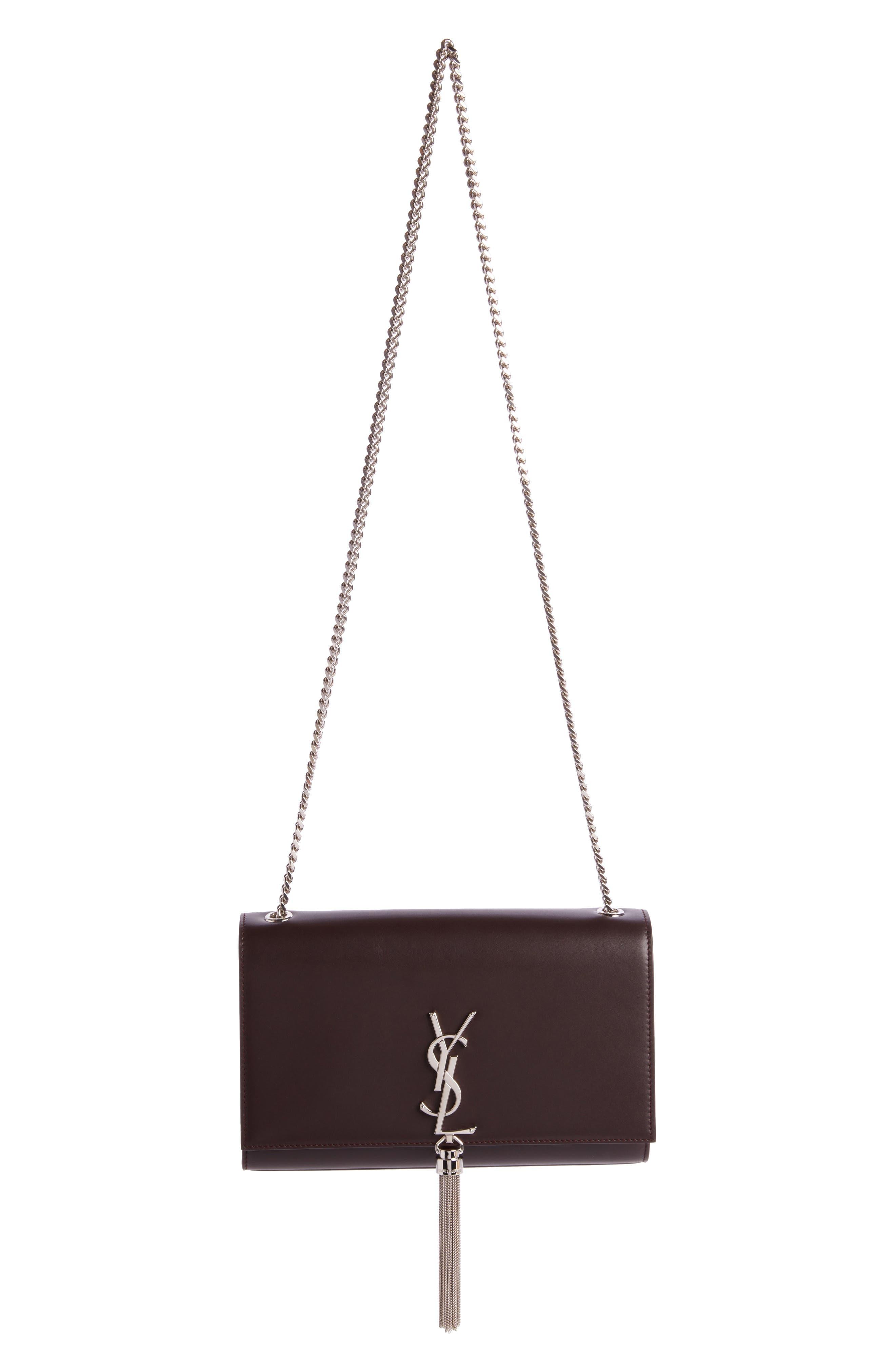 Saint Laurent Medium Kate - Tassel Calfskin Leather Shoulder Bag