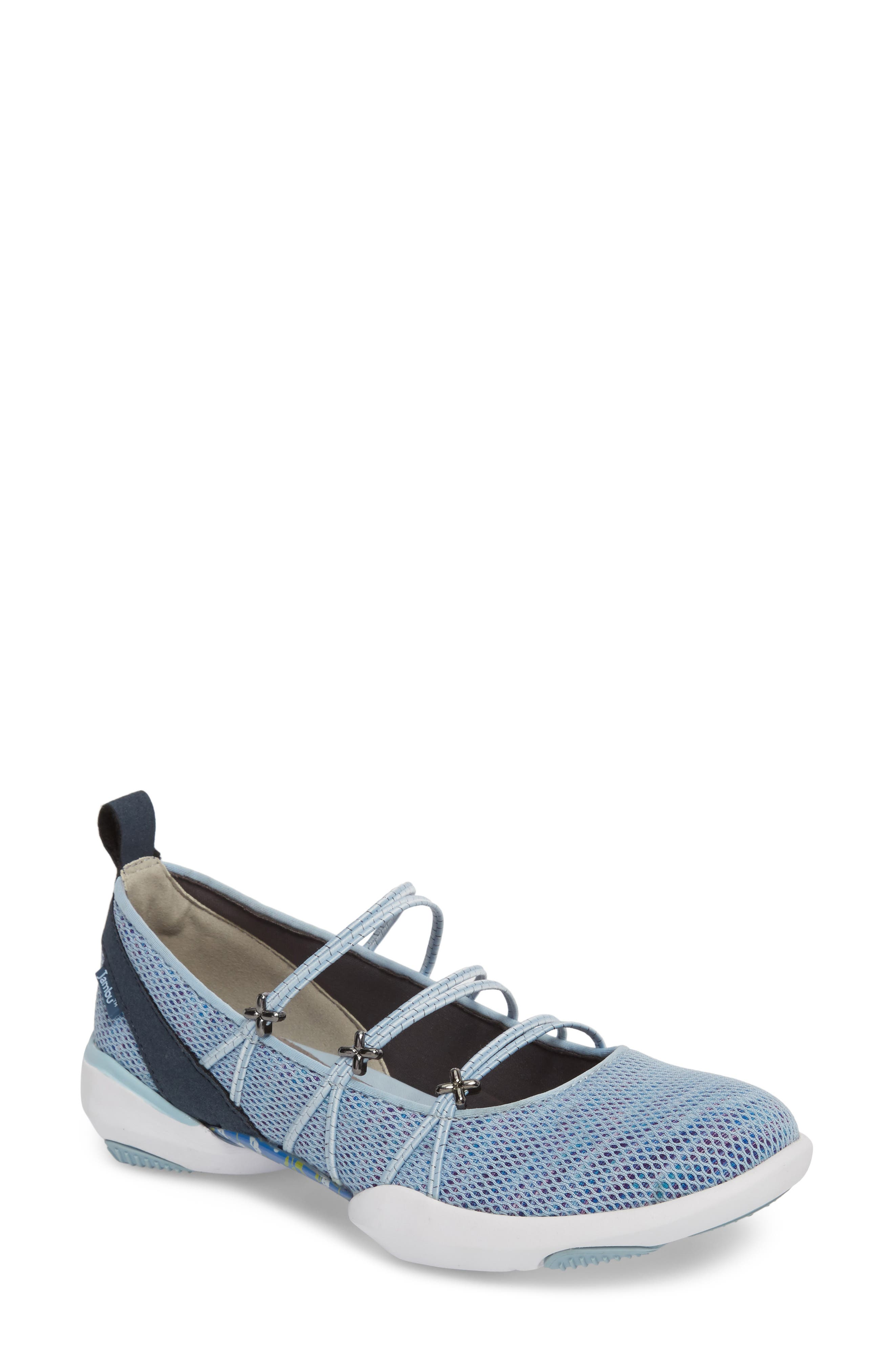 Cheyenne Water Ready Slip-on,                             Main thumbnail 1, color,                             Powder Blue