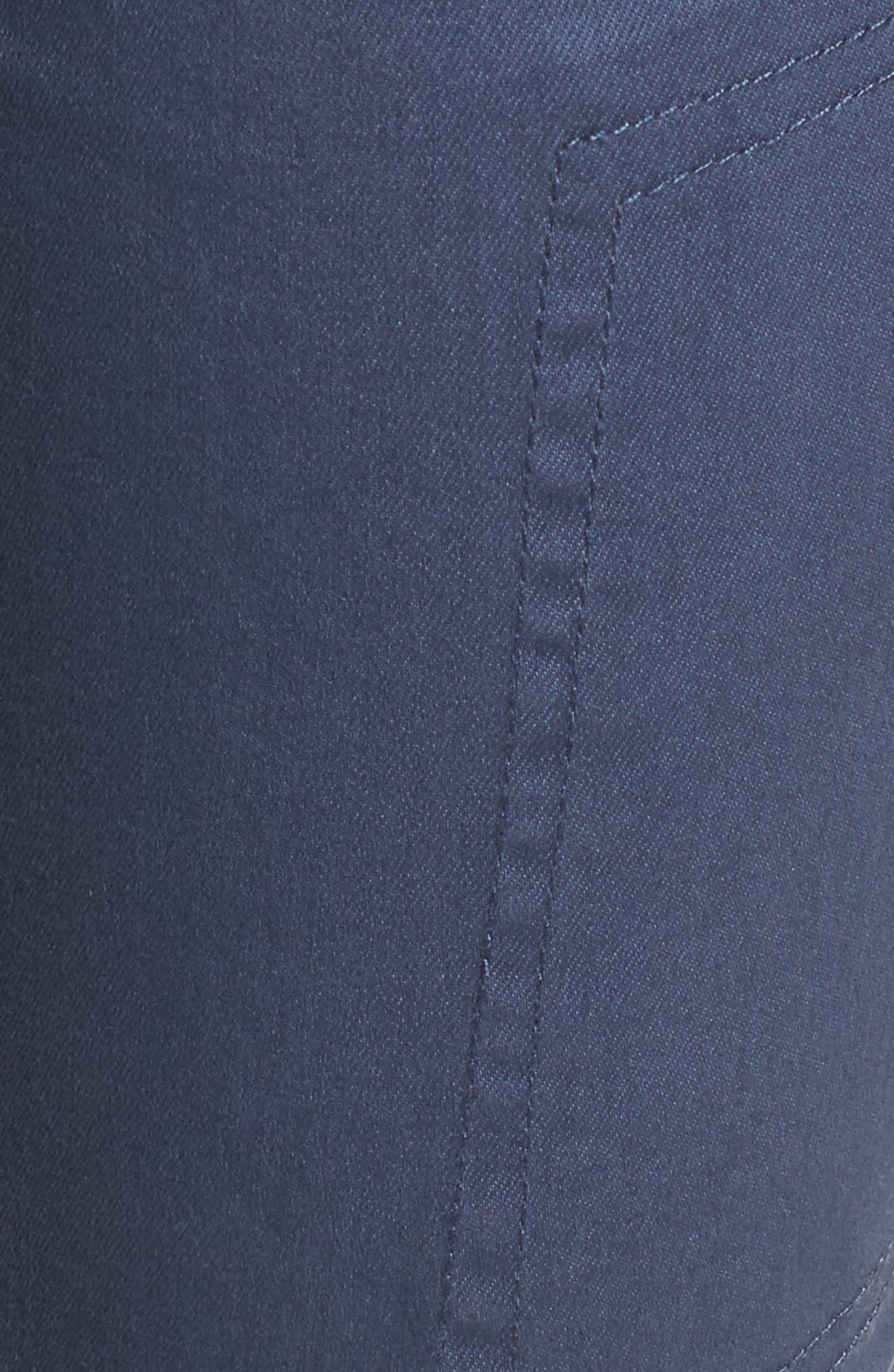Twill Cargo Pants,                             Alternate thumbnail 6, color,                             Slate Blue