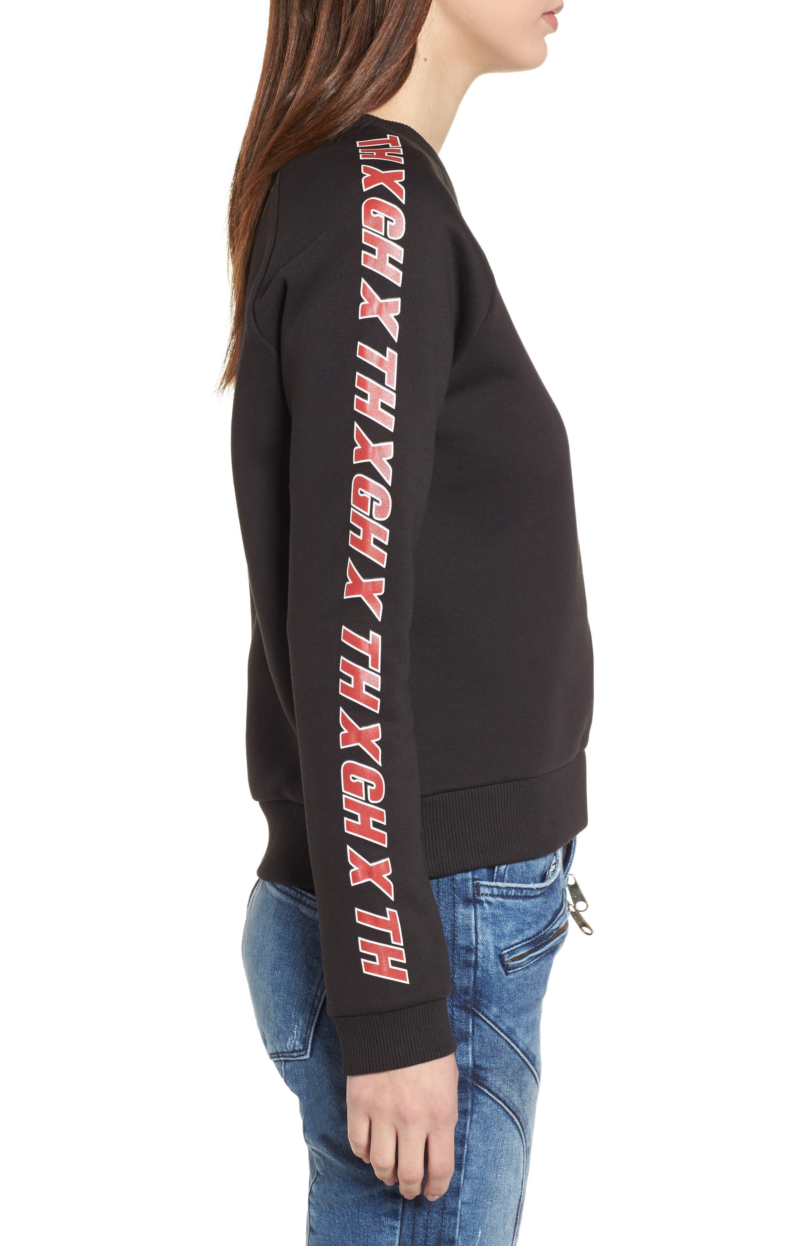 Alternate Image 3  - TOMMY JEANS x Gigi Hadid Team Sweatshirt