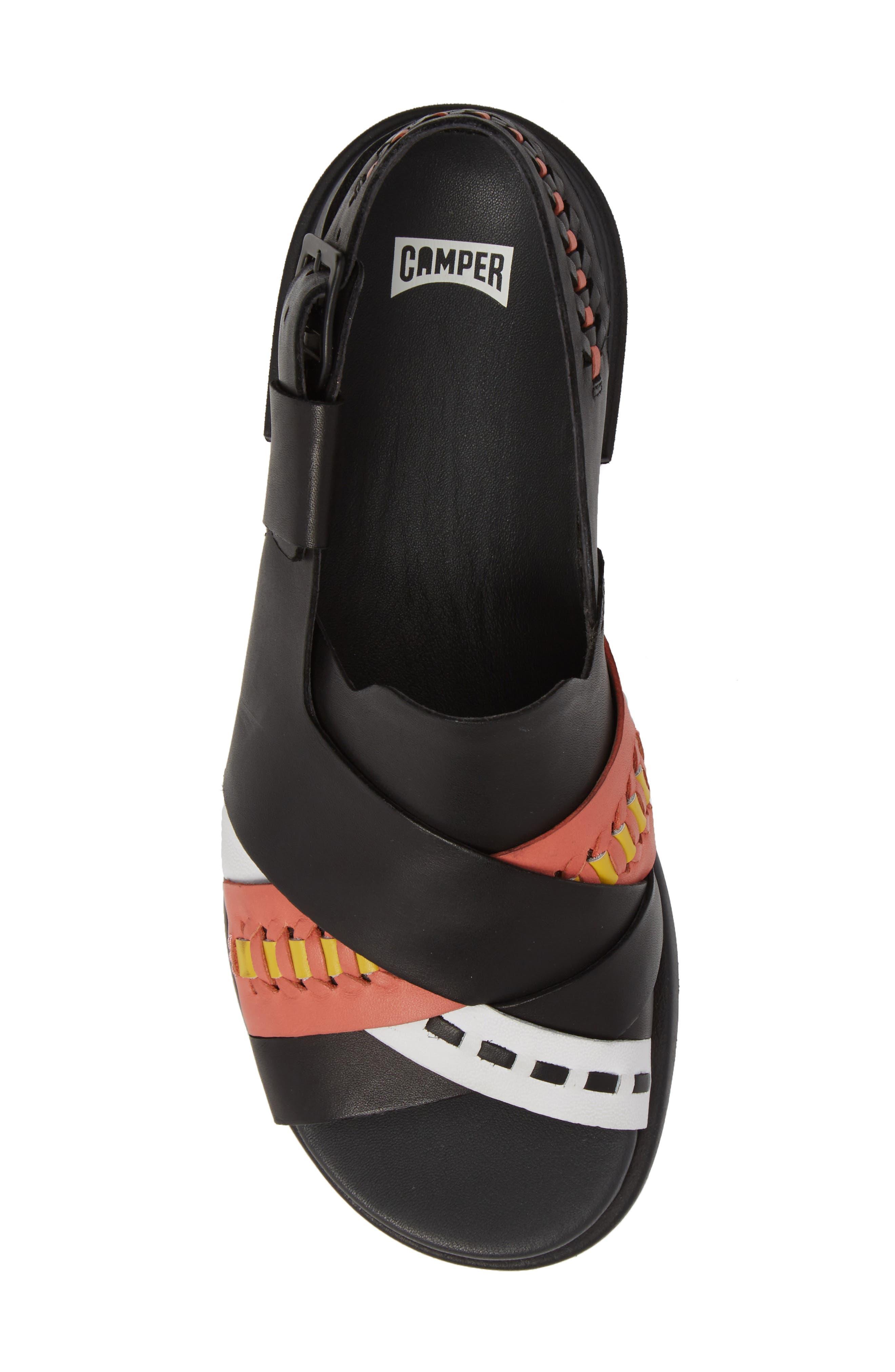 Twins Slingback Sandal,                             Alternate thumbnail 9, color,                             Multi - Assorted Leather