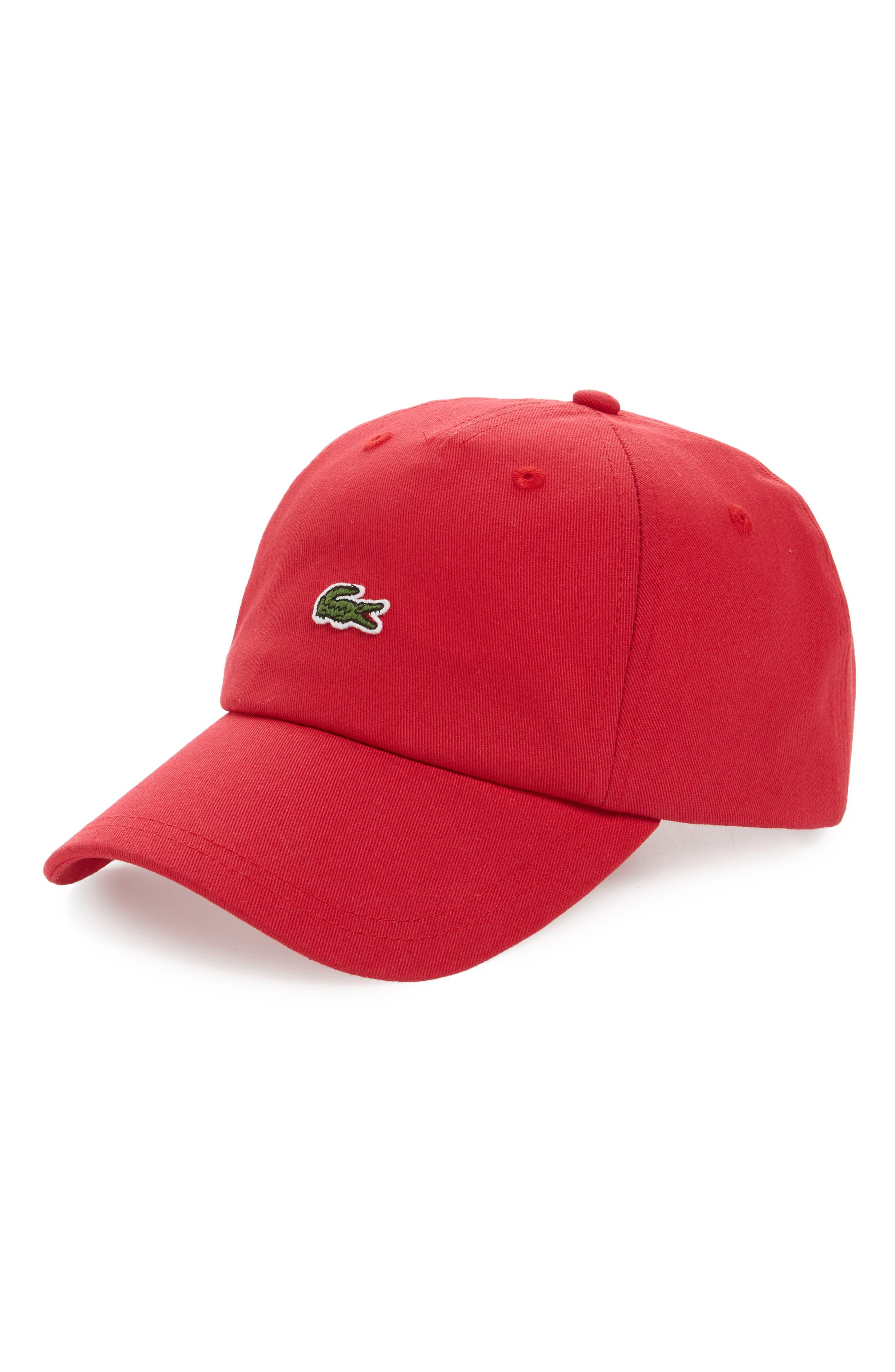 Lacoste Small Croc Baseball Cap