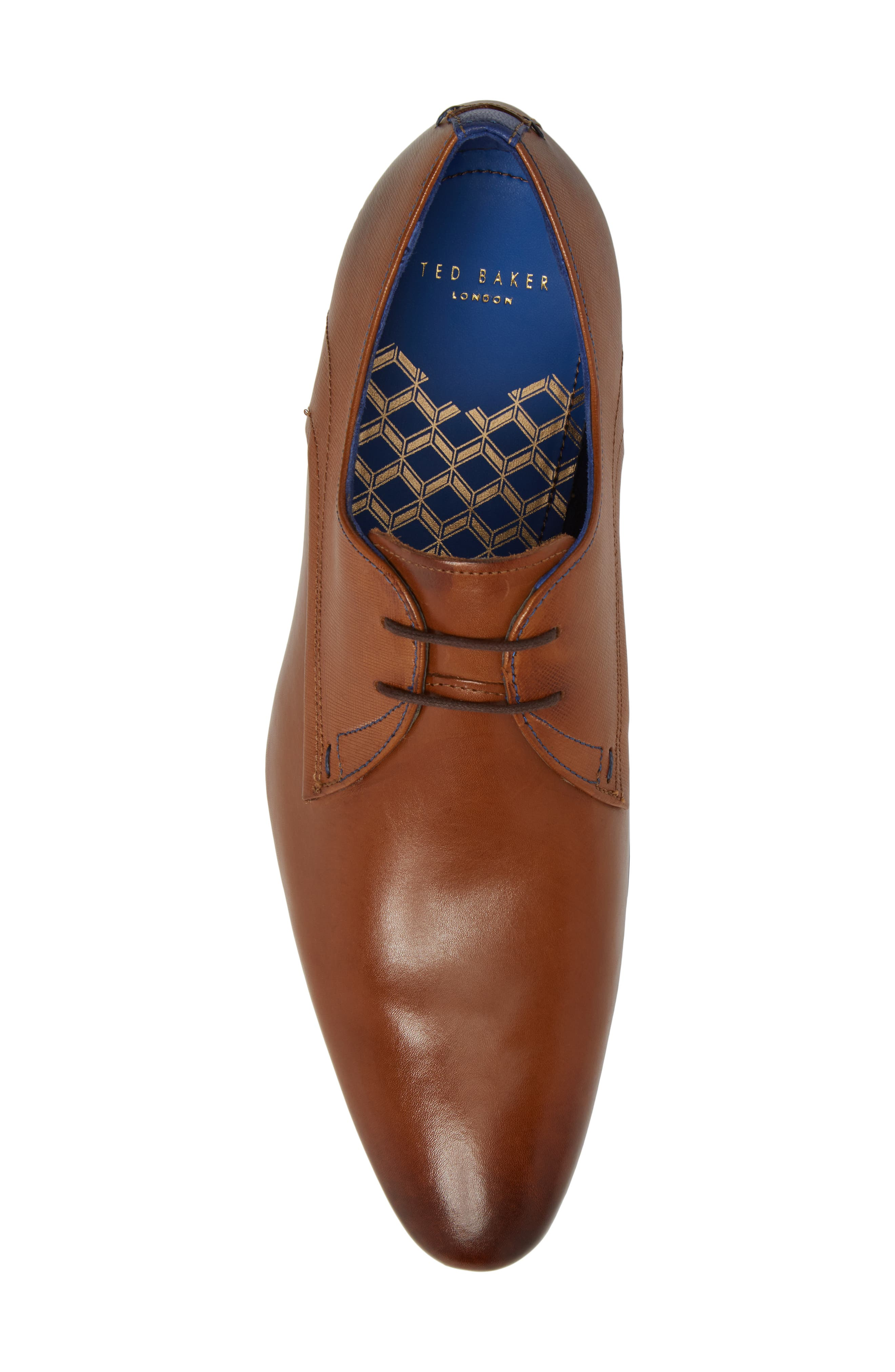 Alternate Image 5  - Ted Baker London Peair Plain Toe Derby (Men)