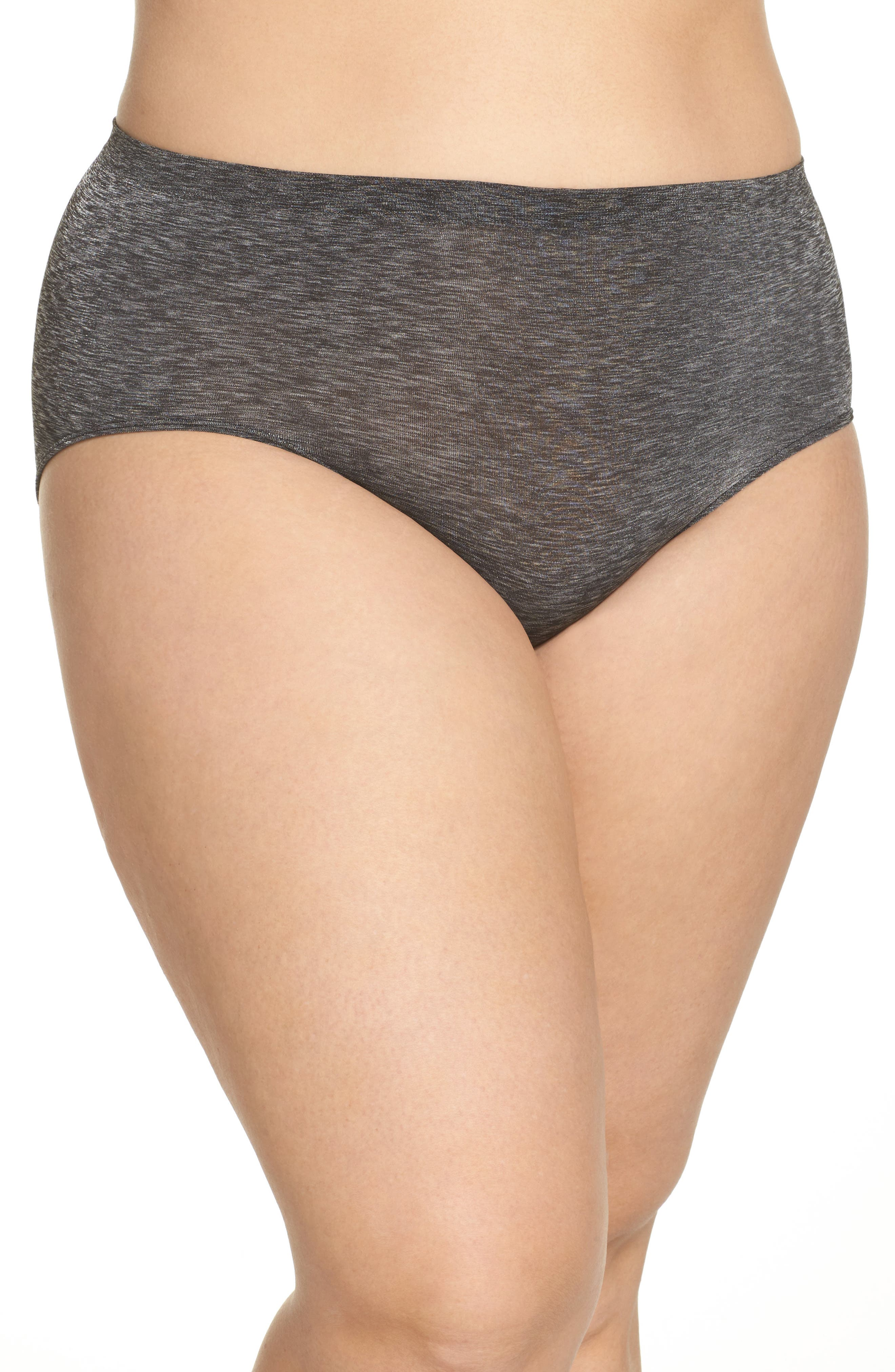 Halogen® Seamless Hipster Briefs (Plus Size) (3 for $33)