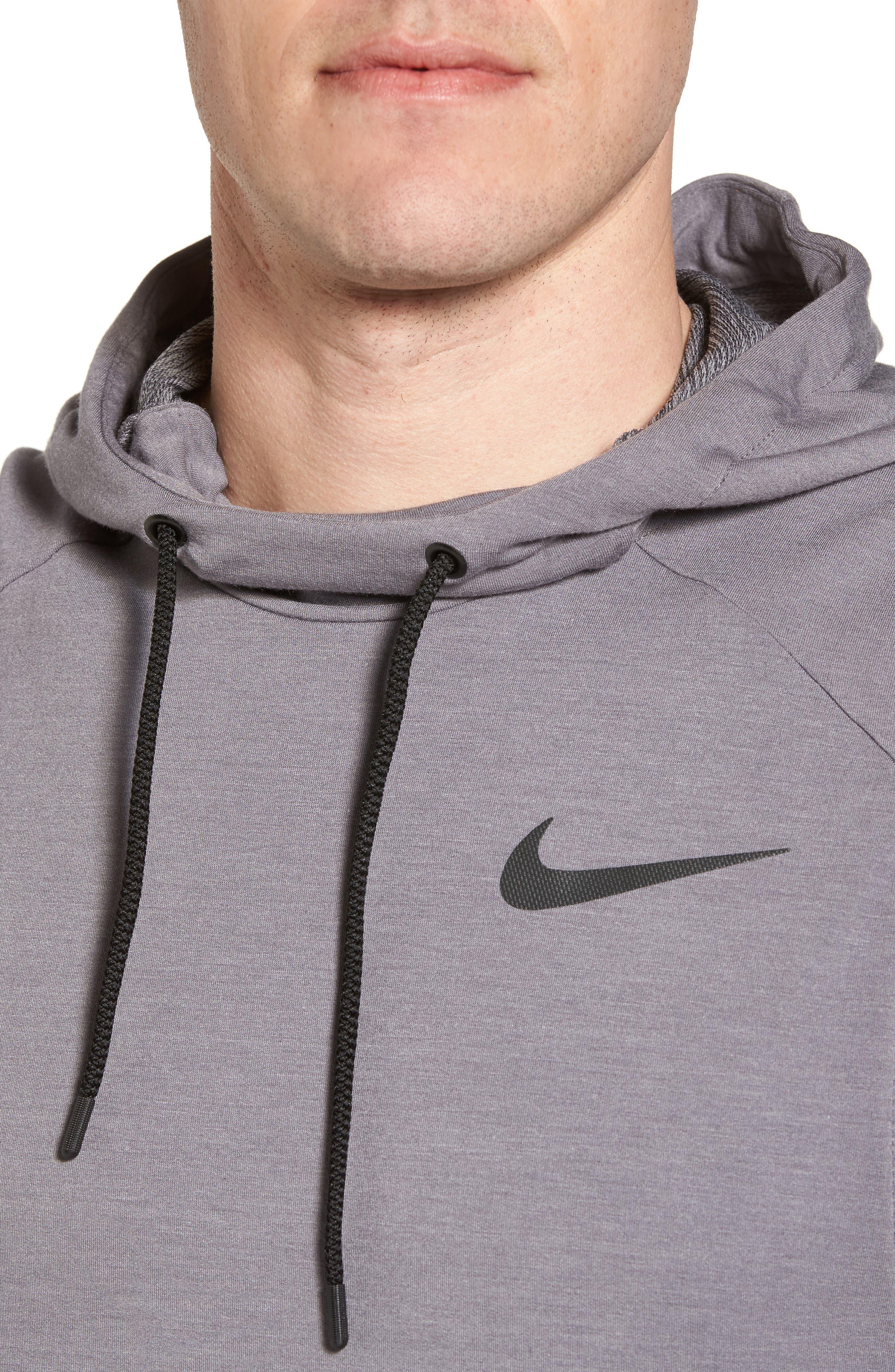Alternate Image 4  - Nike Dry Training Day Sleeveless Hoodie