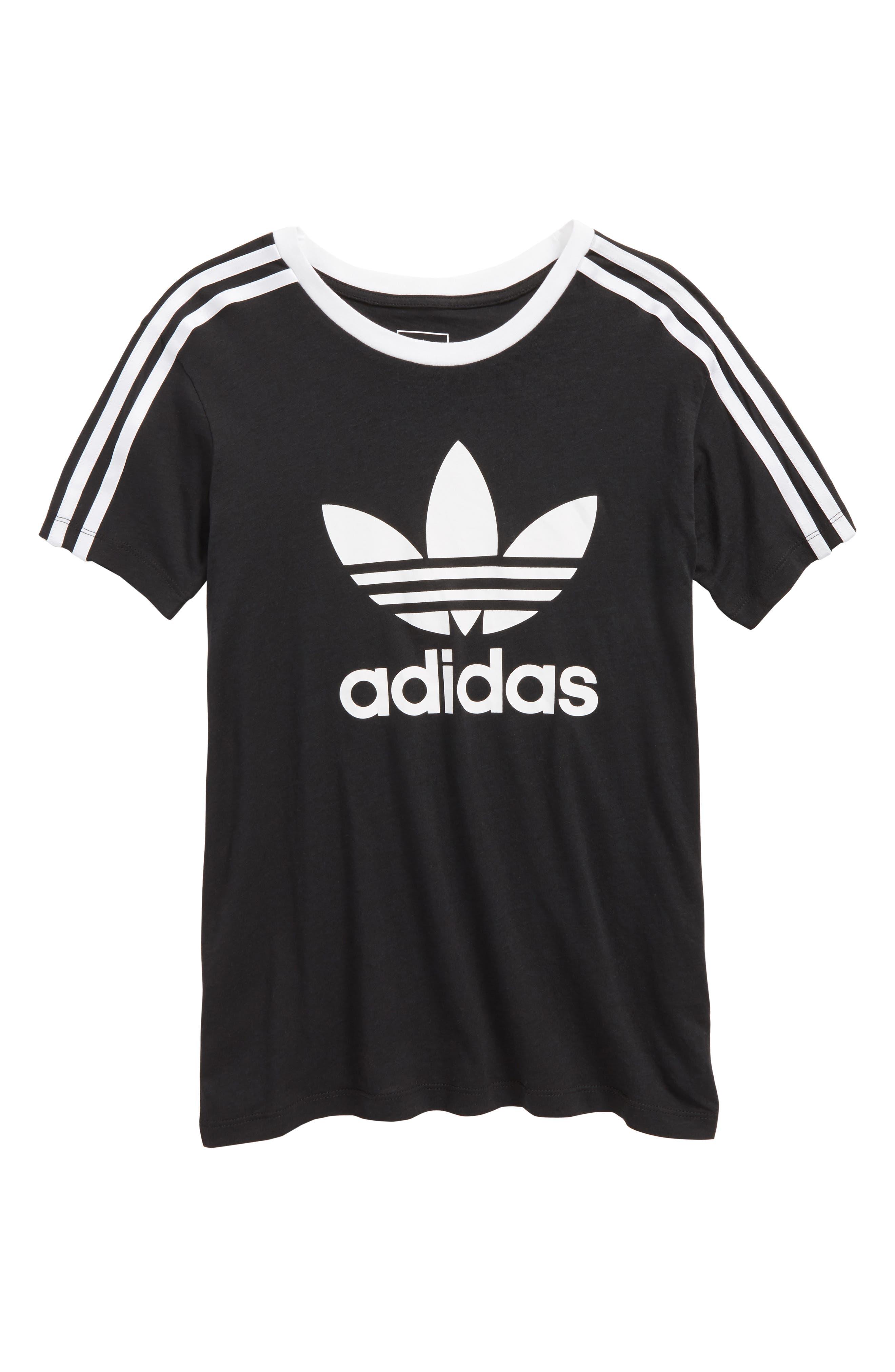 adidas Originals Logo Graphic Tee (Little Girls & Big Girls)