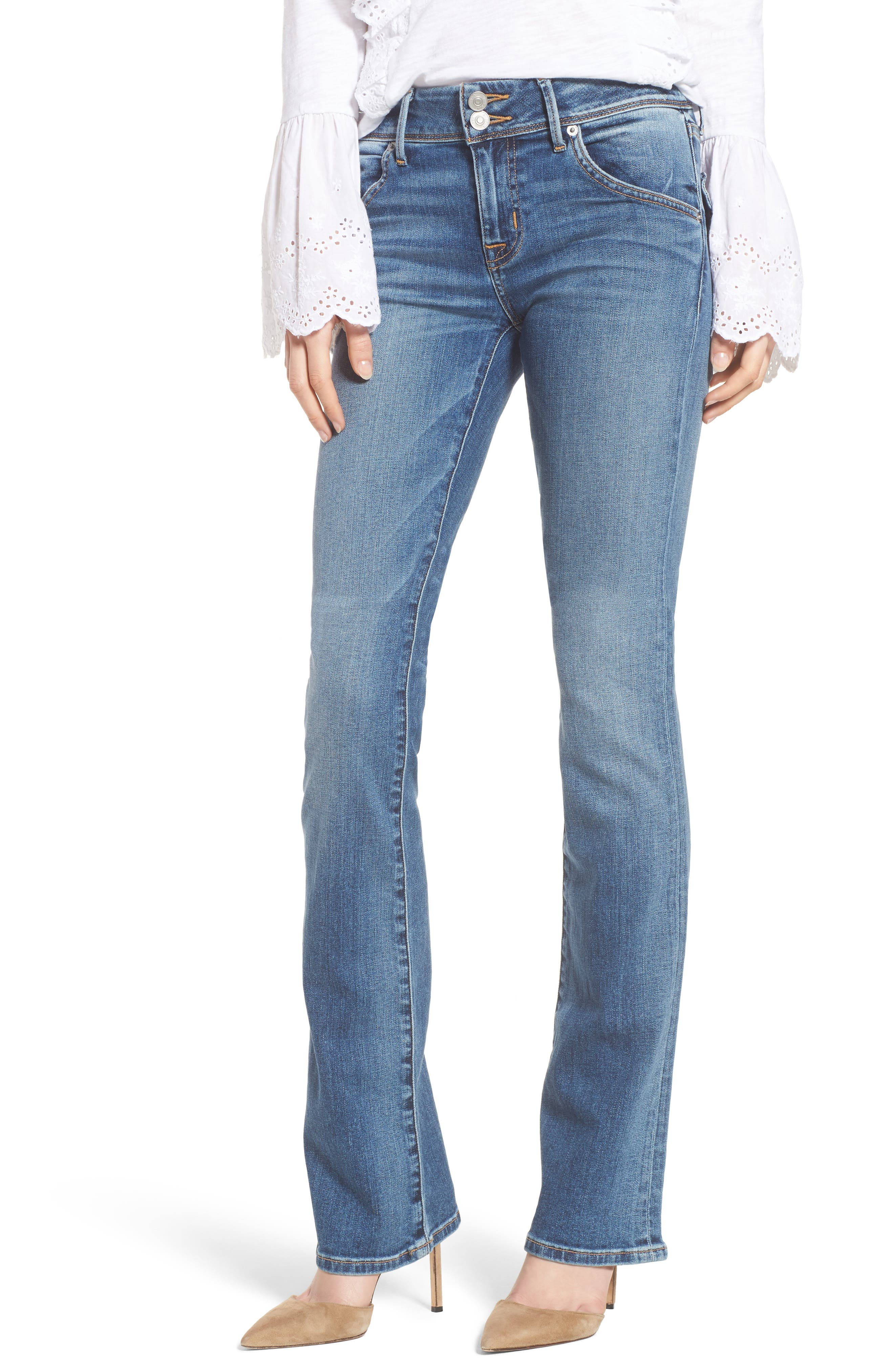 Hudson Jeans Beth Baby Bootcut Jeans (Impala)