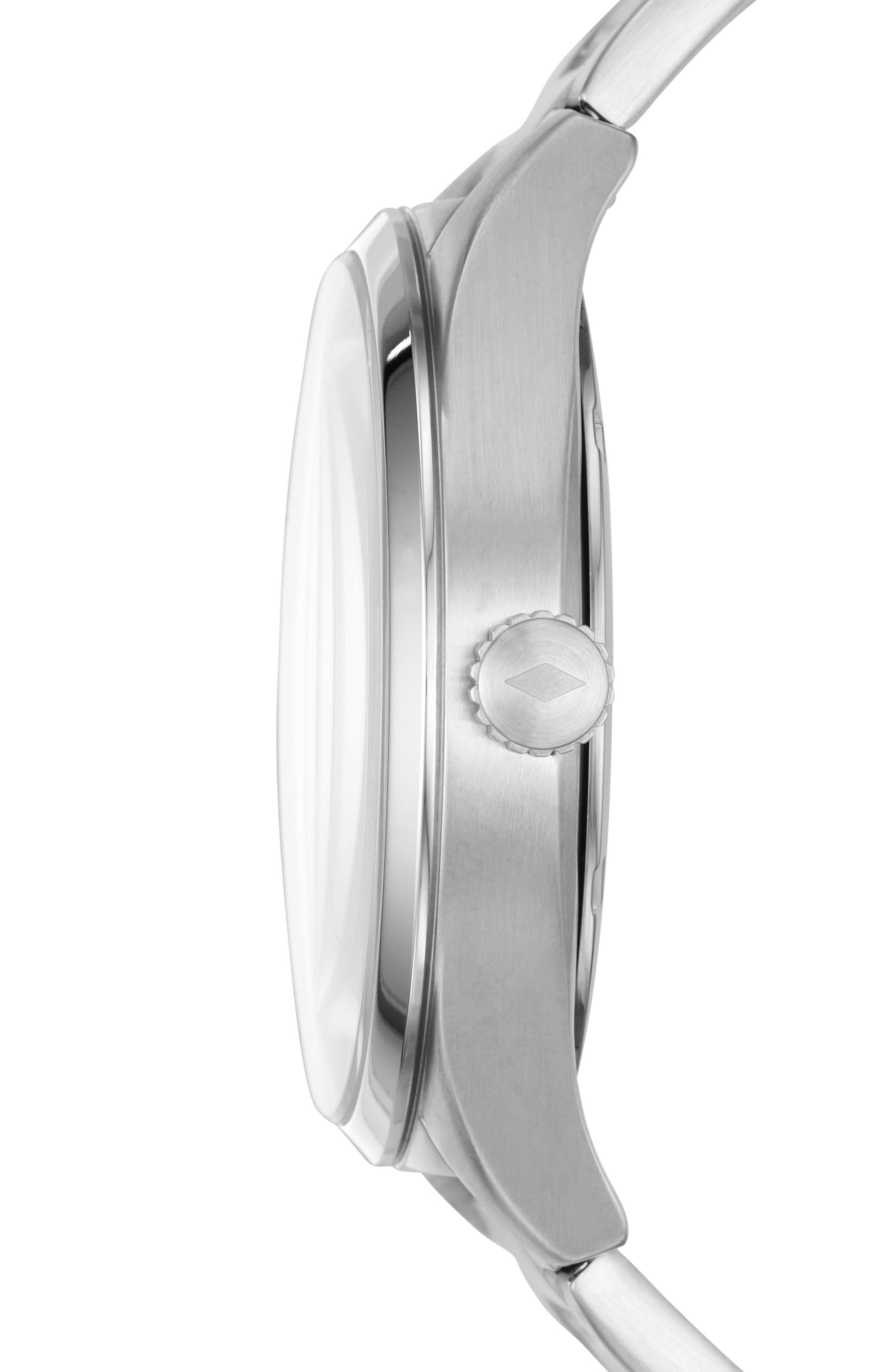 Mathis Bracelet Watch, 44mm,                             Alternate thumbnail 2, color,                             Silver