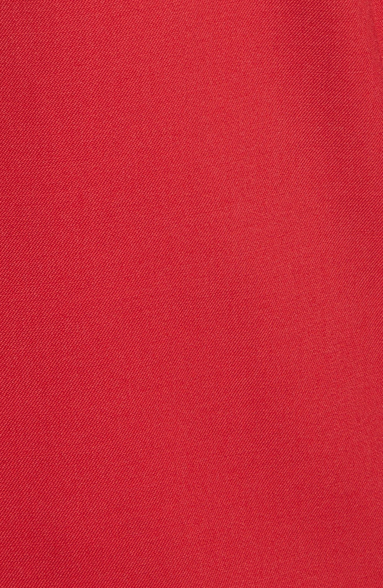 Alternate Image 6  - Oscar de la Renta Stretch Wool Boyfriend Blazer
