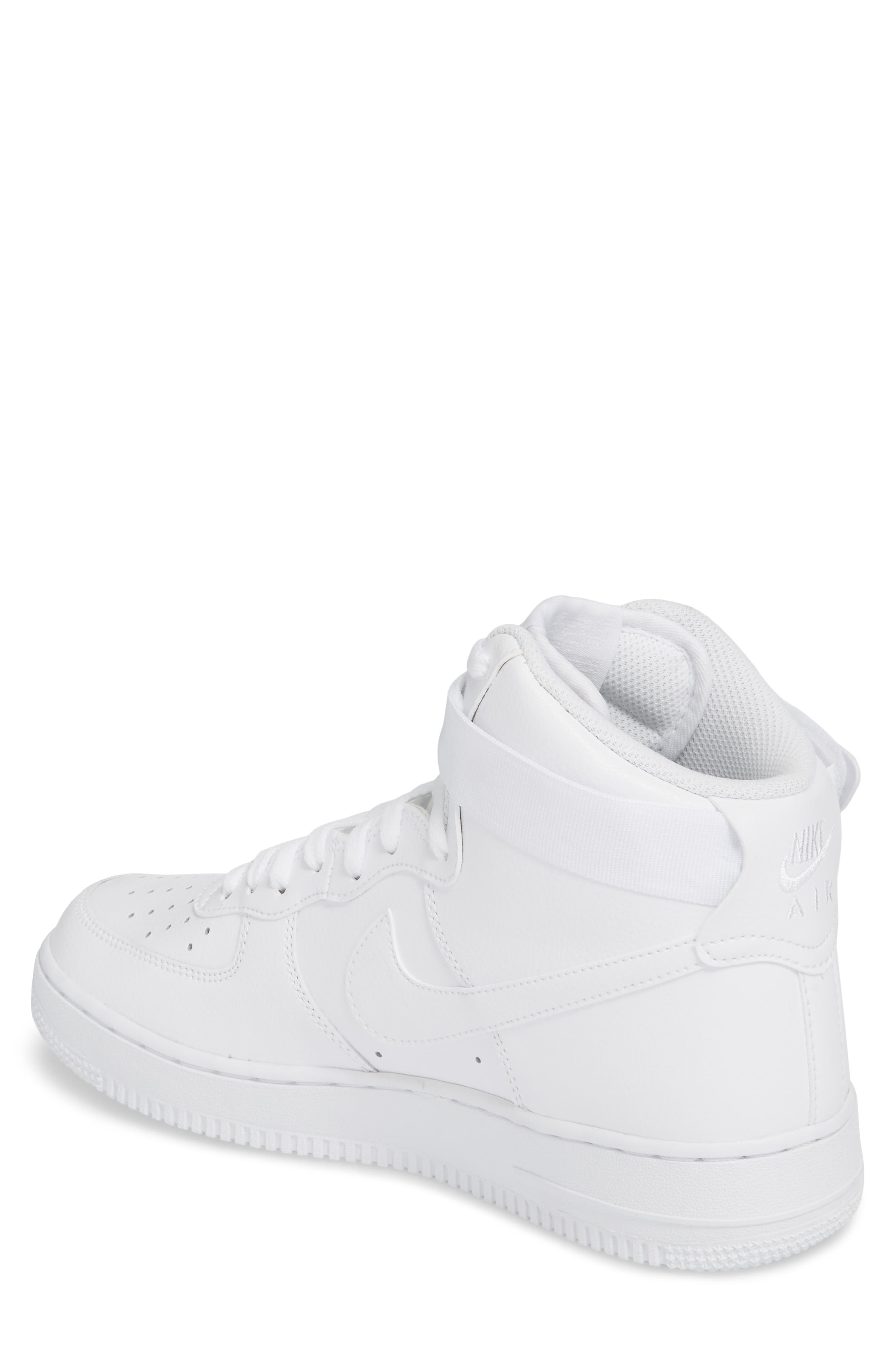 Alternate Image 2  - Nike Air Force 1 High '07 Sneaker (Men)