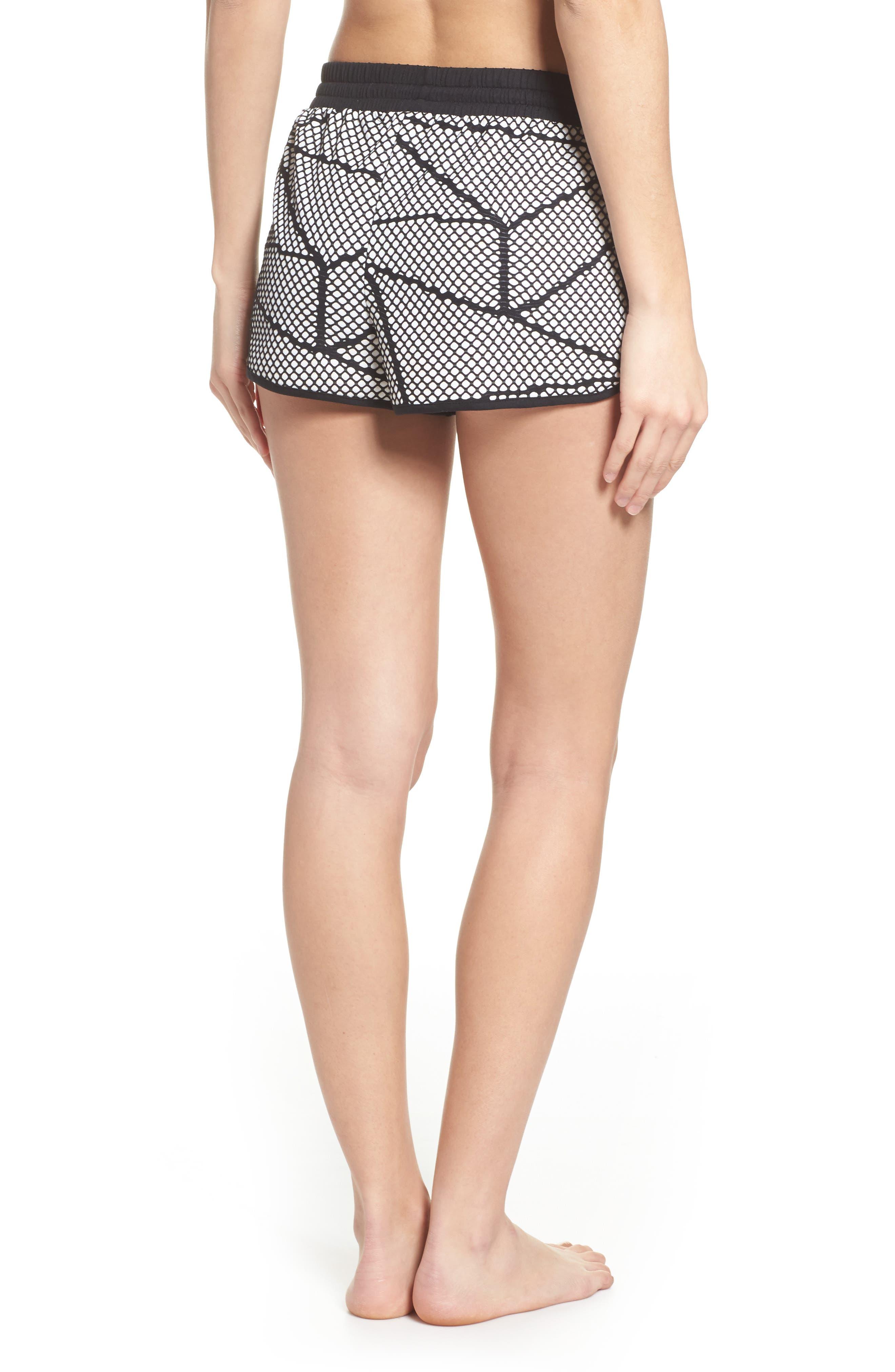 Chromatic Shorts,                             Alternate thumbnail 2, color,                             Cr5048 Black-White Chromatic