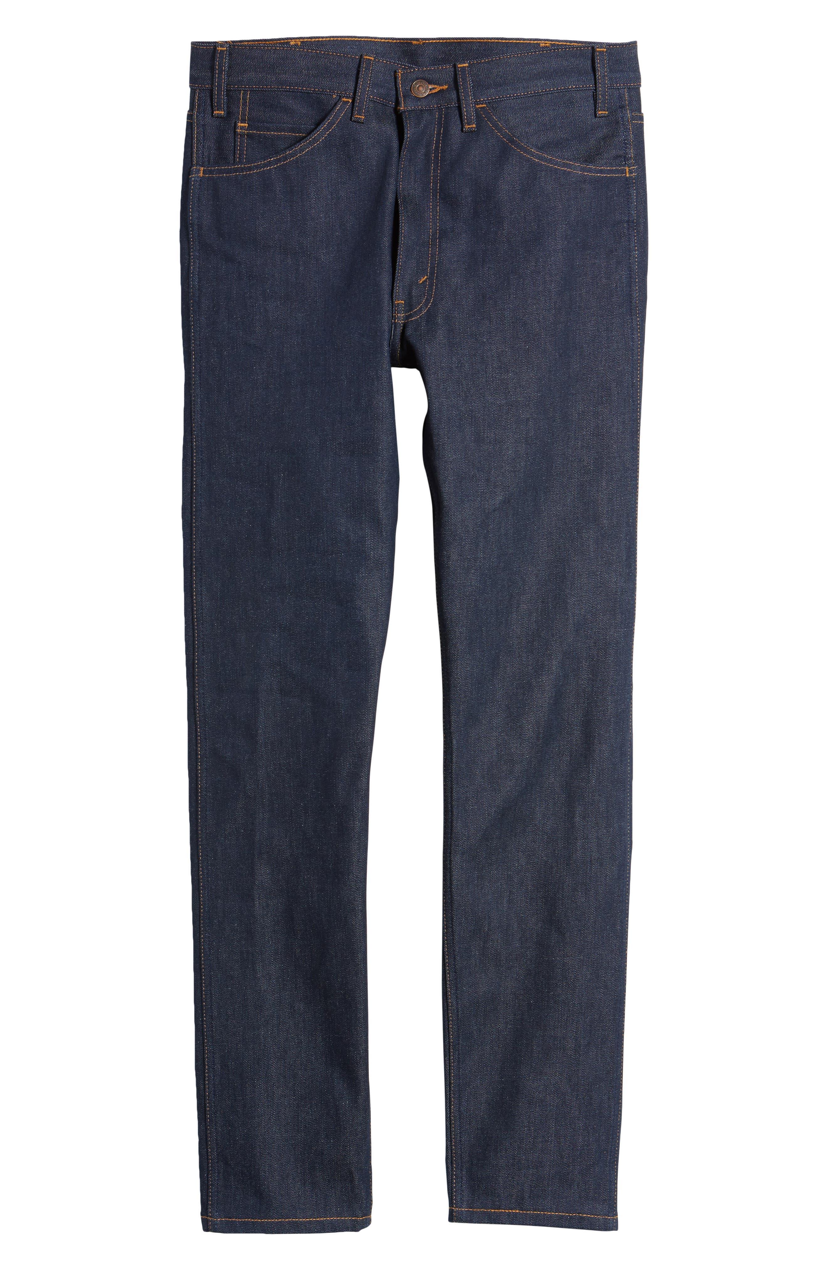 1969 606<sup>™</sup> Slim Fit Jeans,                             Alternate thumbnail 6, color,                             Rigid M8017