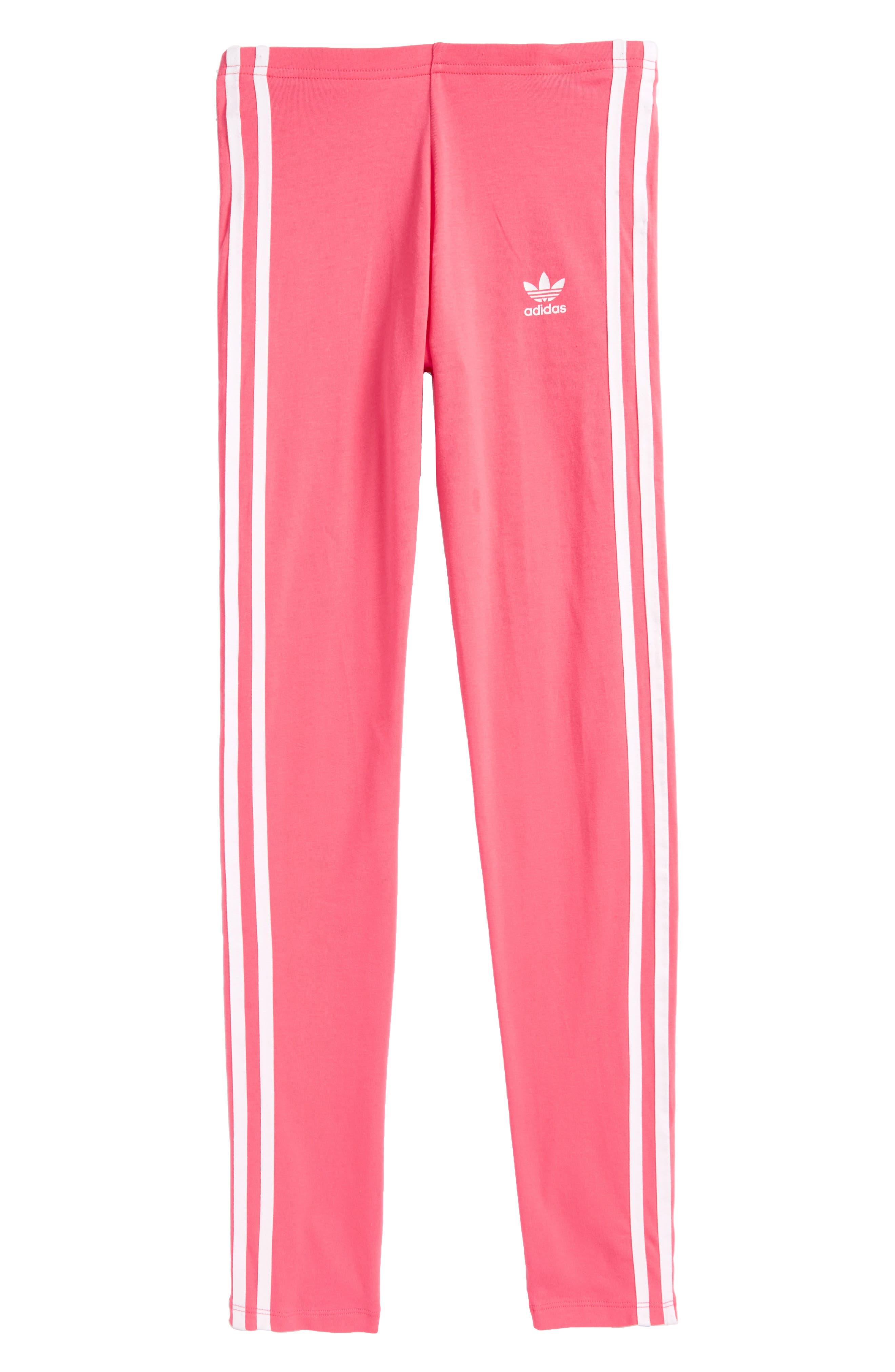 adidas 3-Stripes Leggings (Big Girls)