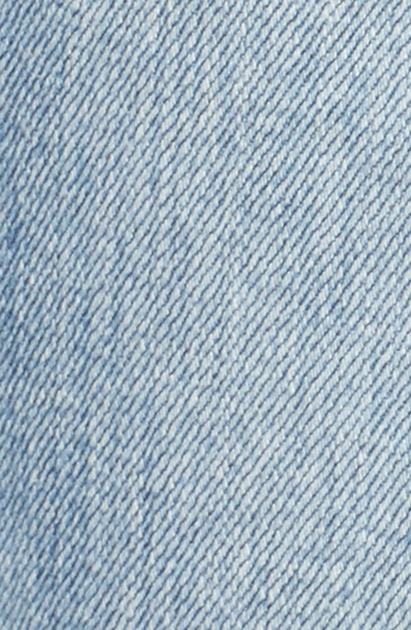Alternate Image 5  - AG The Farrah High Waist Ankle Skinny Jeans (20 Years Oceana)