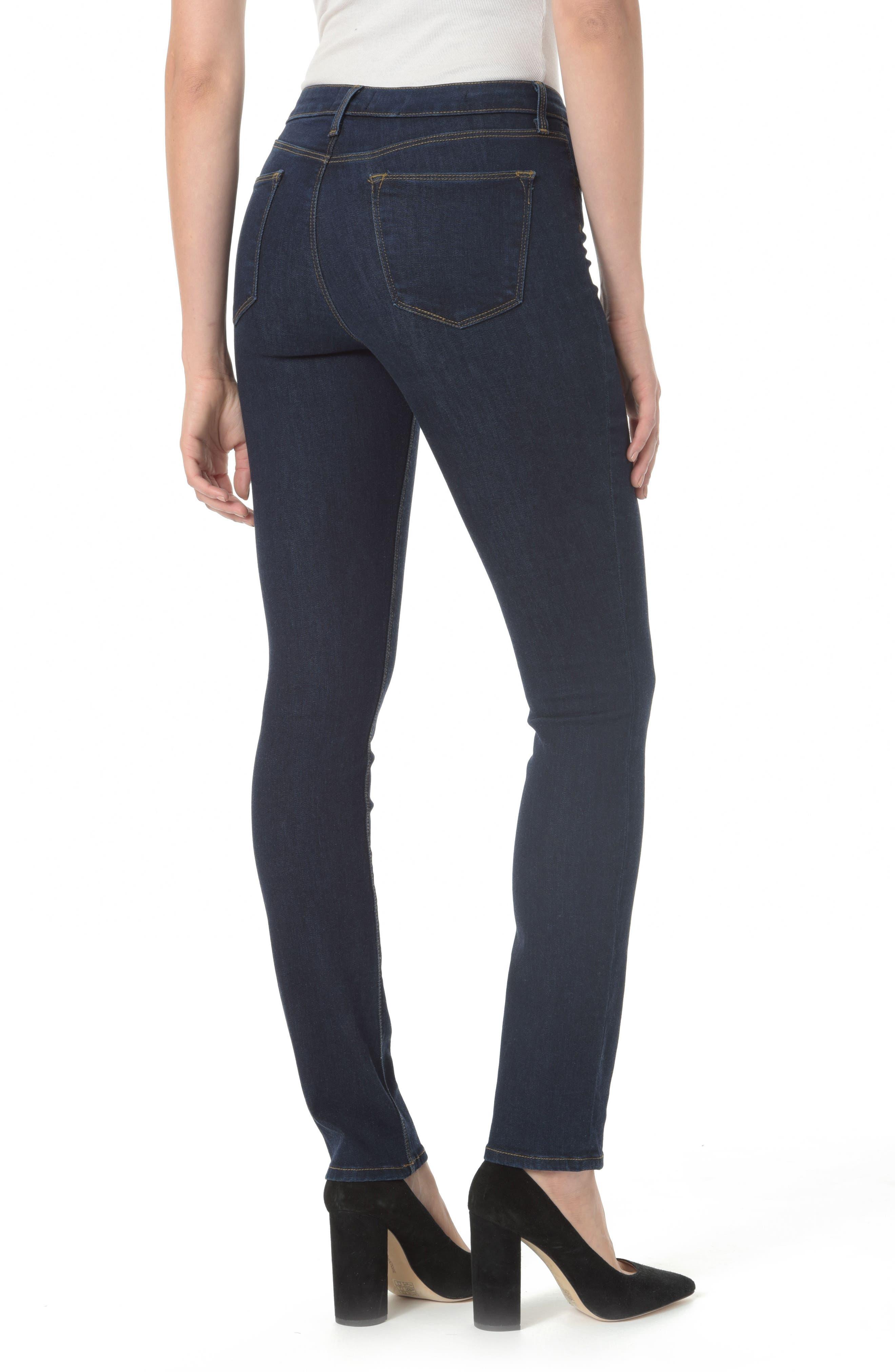 Marilyn Straight Leg Jeans,                             Alternate thumbnail 2, color,                             Rinse