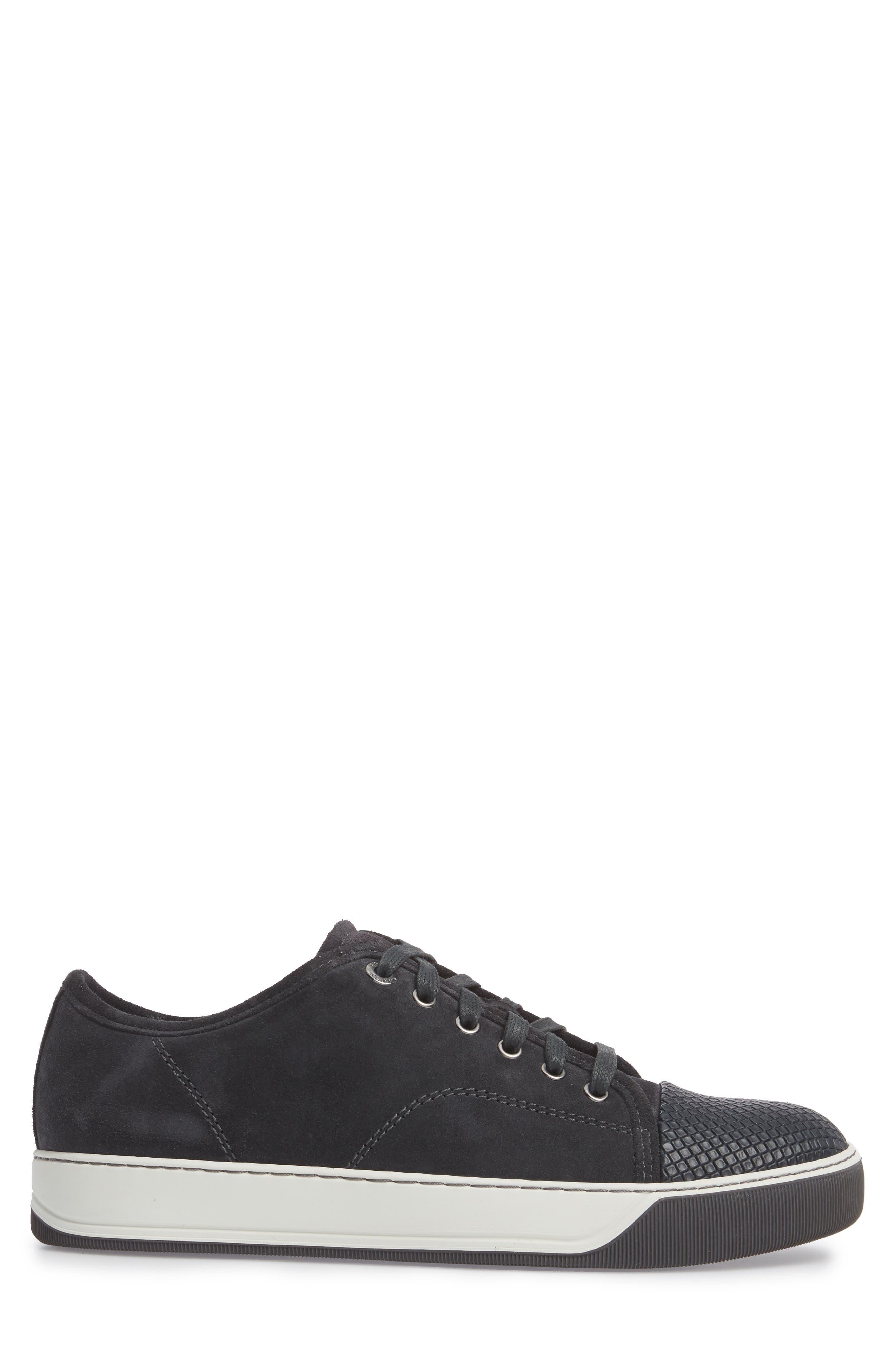 Alternate Image 3  - Lanvin Classic Textured Cap Toe Sneaker (Men)