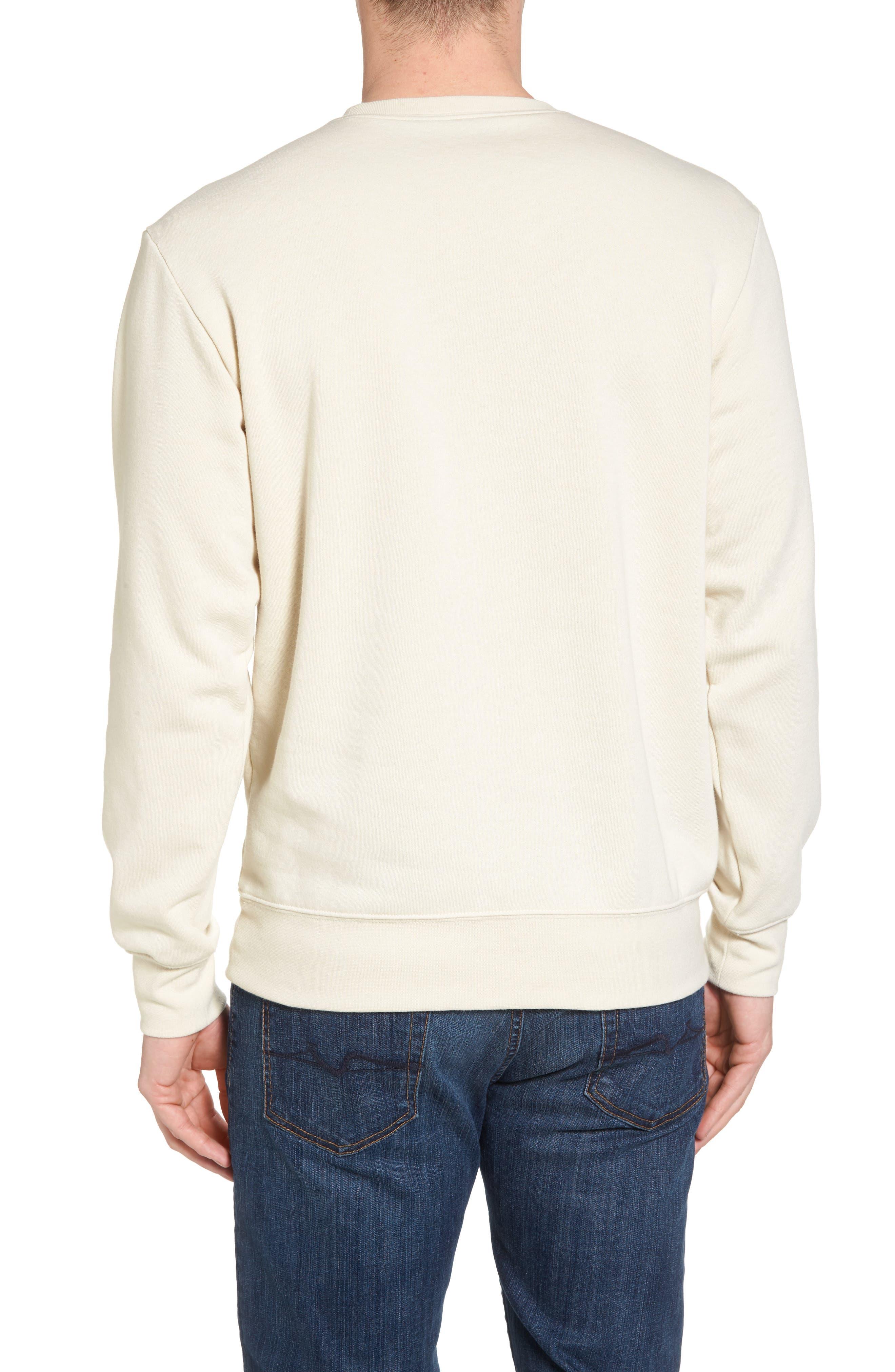 66 Classic Crew Sweatshirt,                             Alternate thumbnail 2, color,                             Vintage White Heather