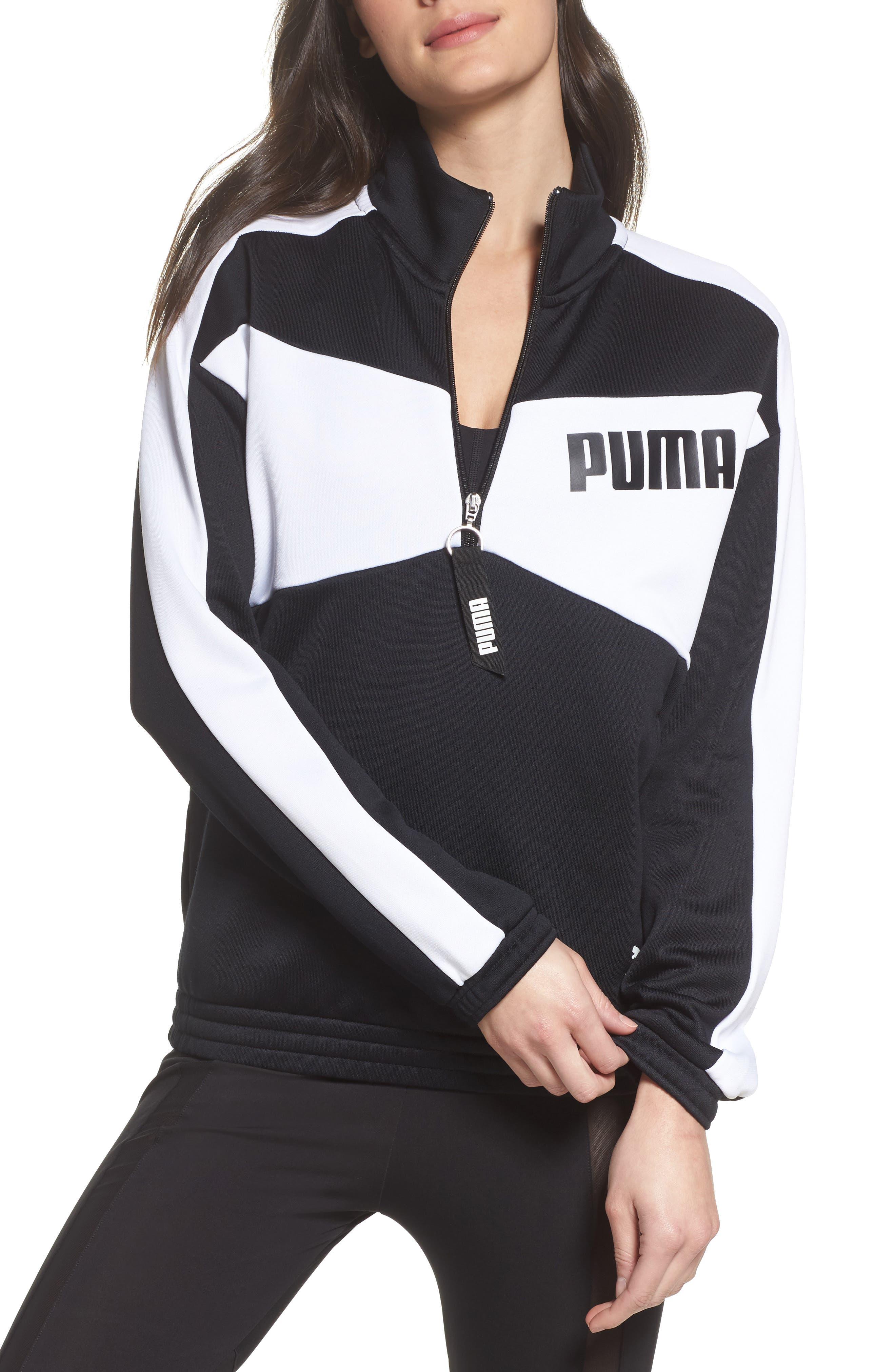 Puma Archive T7 Half Zip Pullover