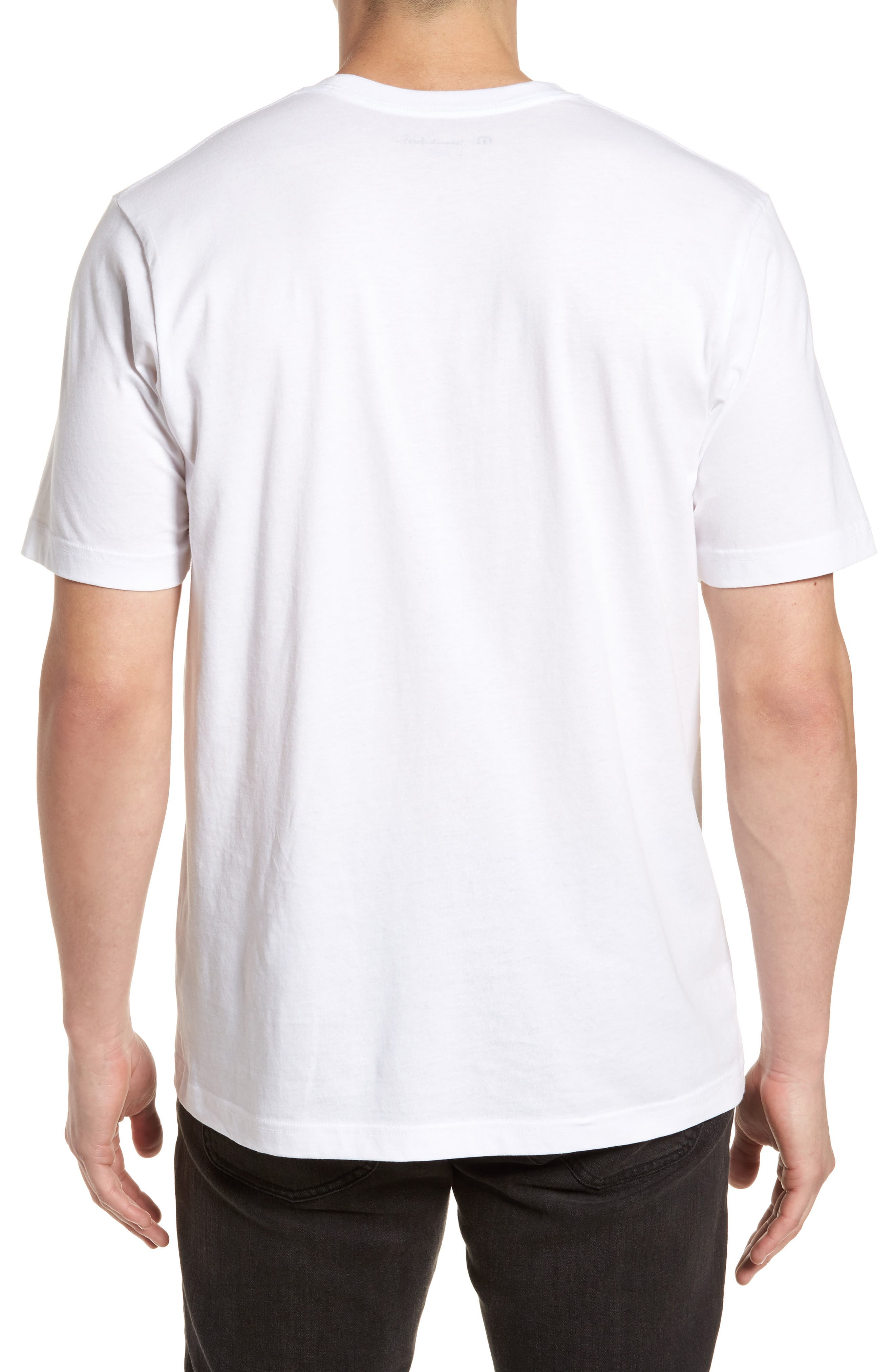 Windy Vibes Graphic T-Shirt,                             Alternate thumbnail 2, color,                             White