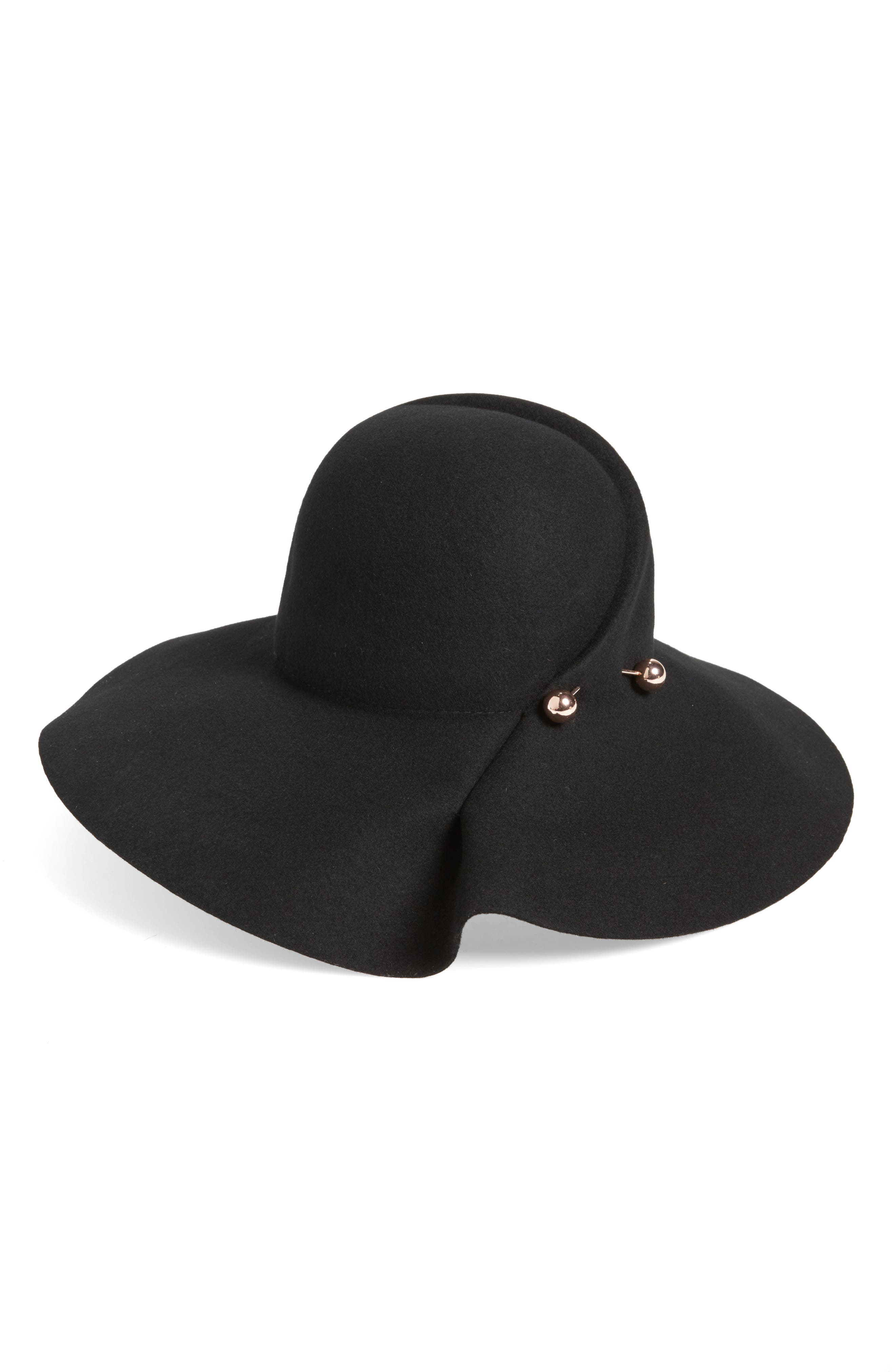 Alternate Image 1 Selected - Shiraleah Pembroke Felted Wool Fedora