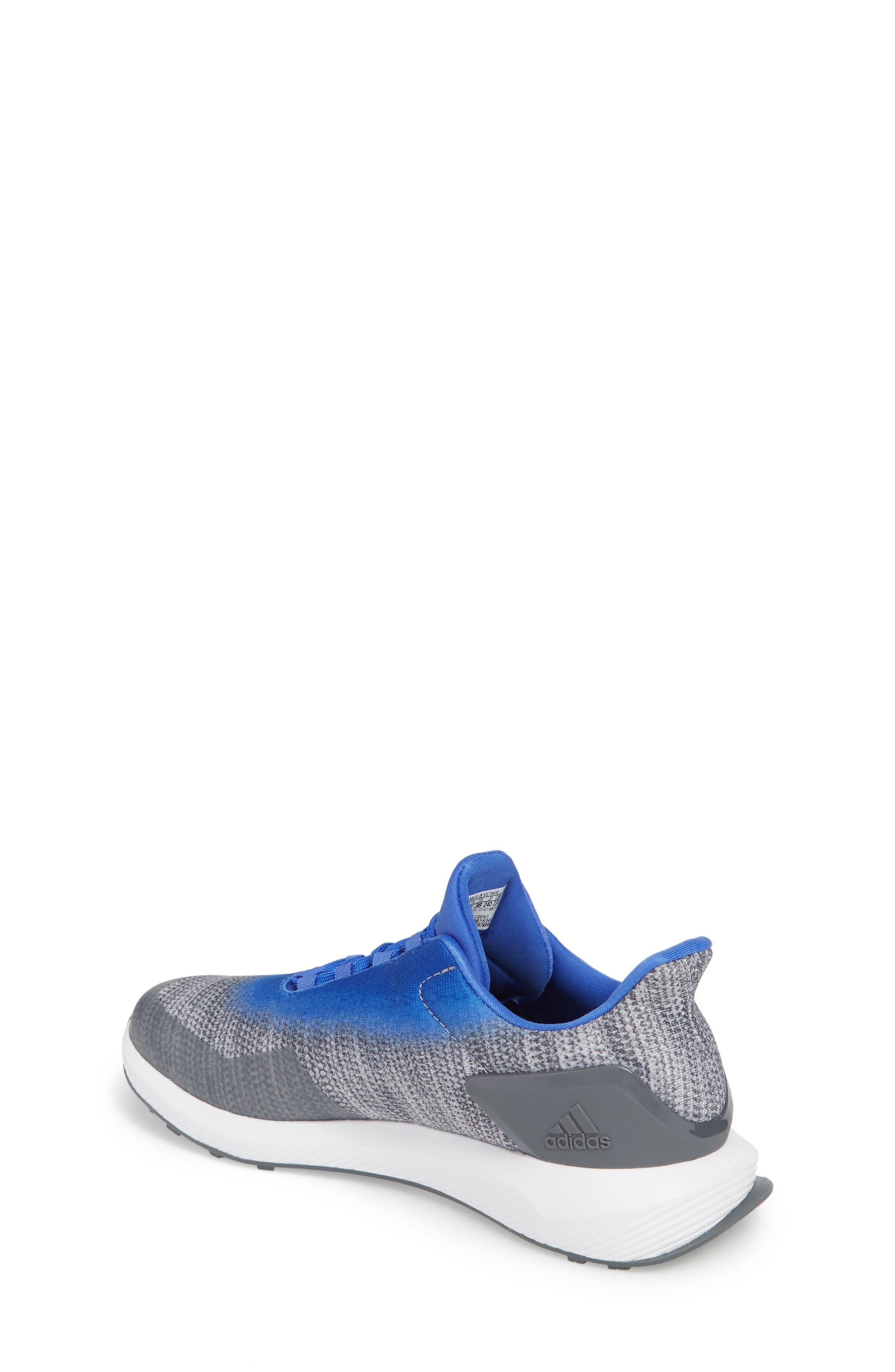 RapidaRun Uncaged Sneaker,                             Alternate thumbnail 2, color,                             Grey / Grey / Blue
