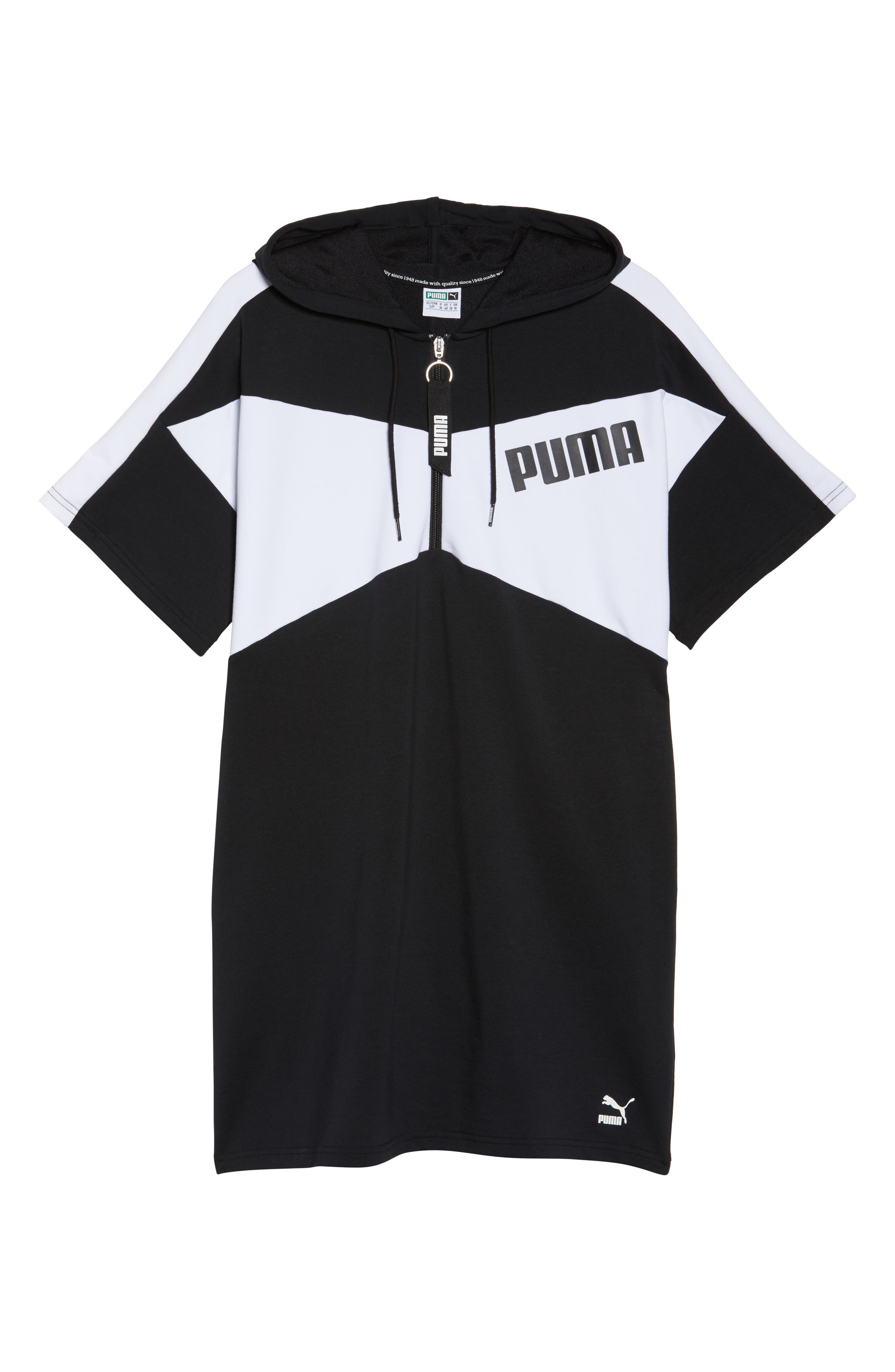 Archive Dress,                             Alternate thumbnail 7, color,                             Puma Black