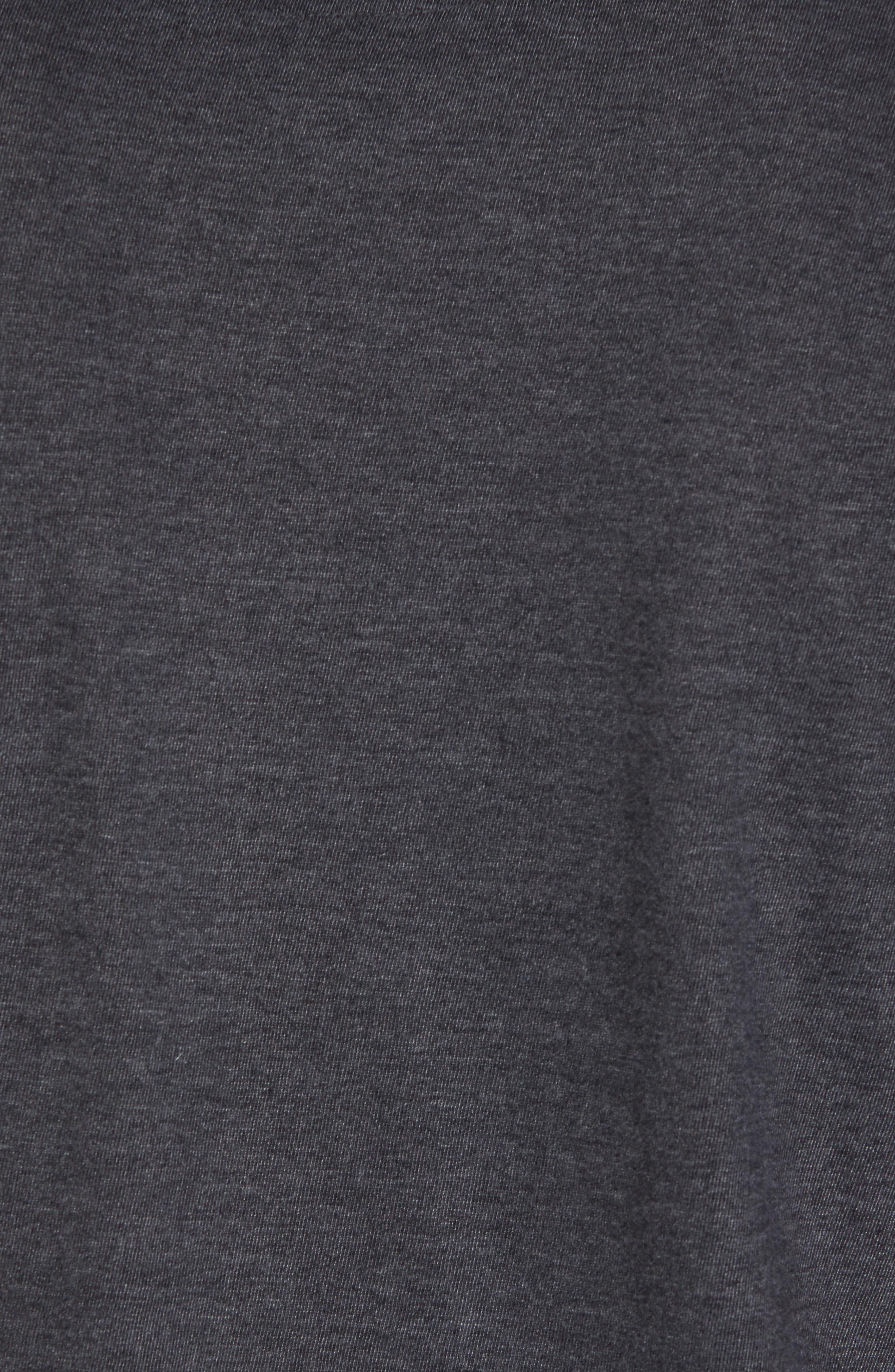 Hillwood Bruins T-Shirt,                             Alternate thumbnail 5, color,                             Heather Black