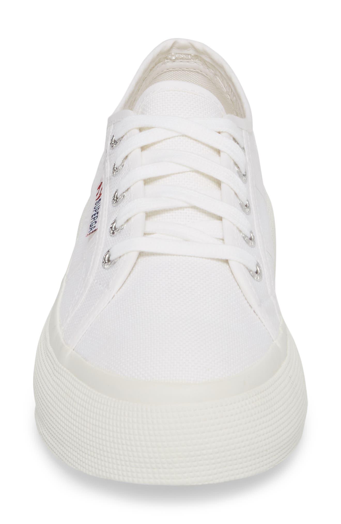 2287 Cotu Platform Sneaker,                             Alternate thumbnail 4, color,                             White