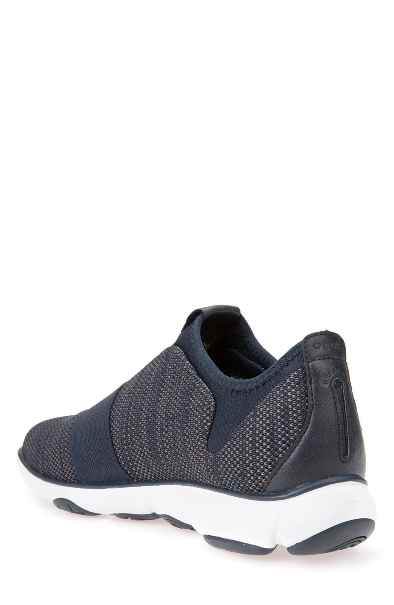 Nebula 45 Banded Slip-On Sneaker,                             Alternate thumbnail 2, color,                             Navy