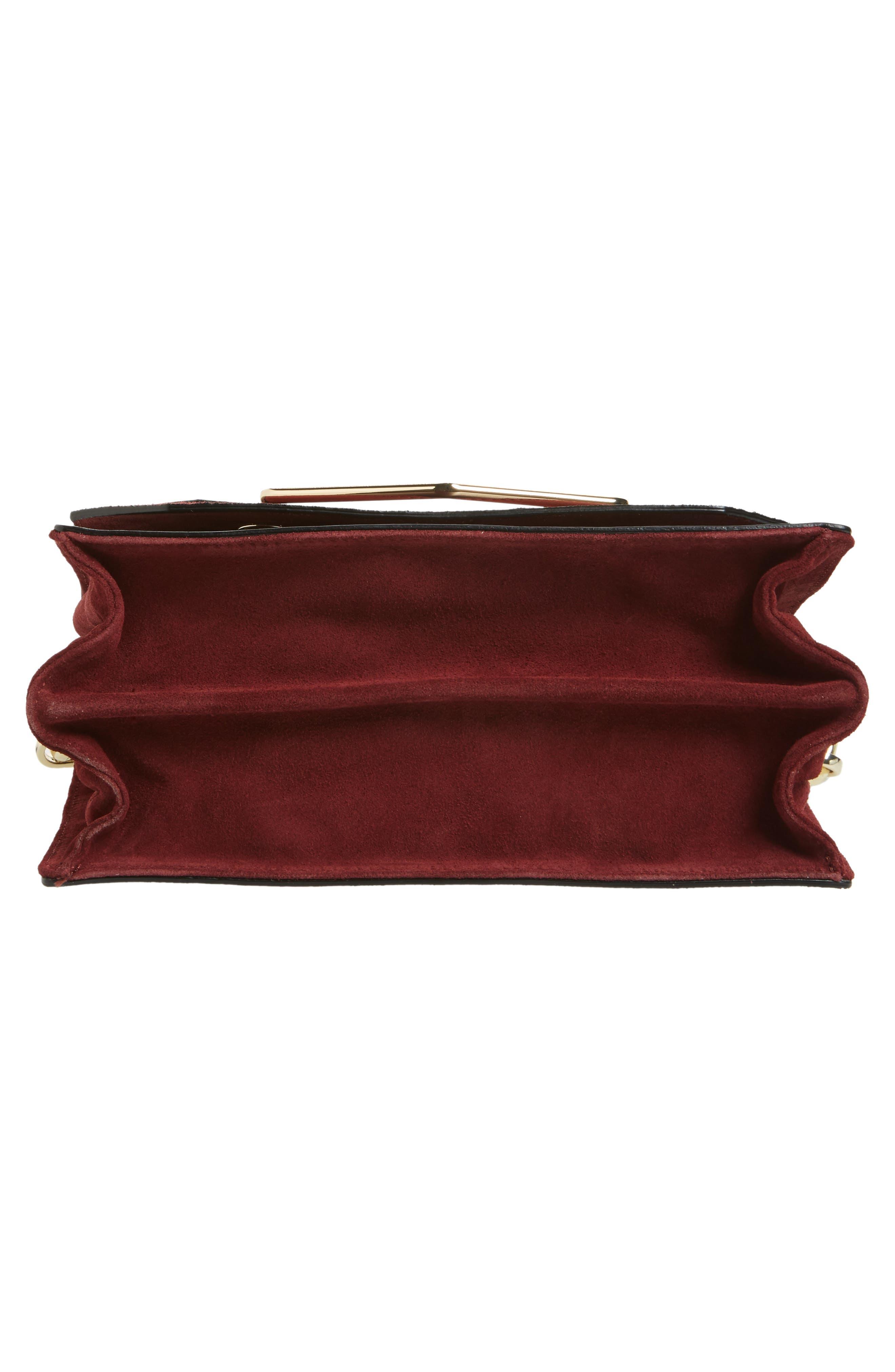 Alternate Image 4  - Topshop Premium Leather & Suede Soko Shoulder Bag