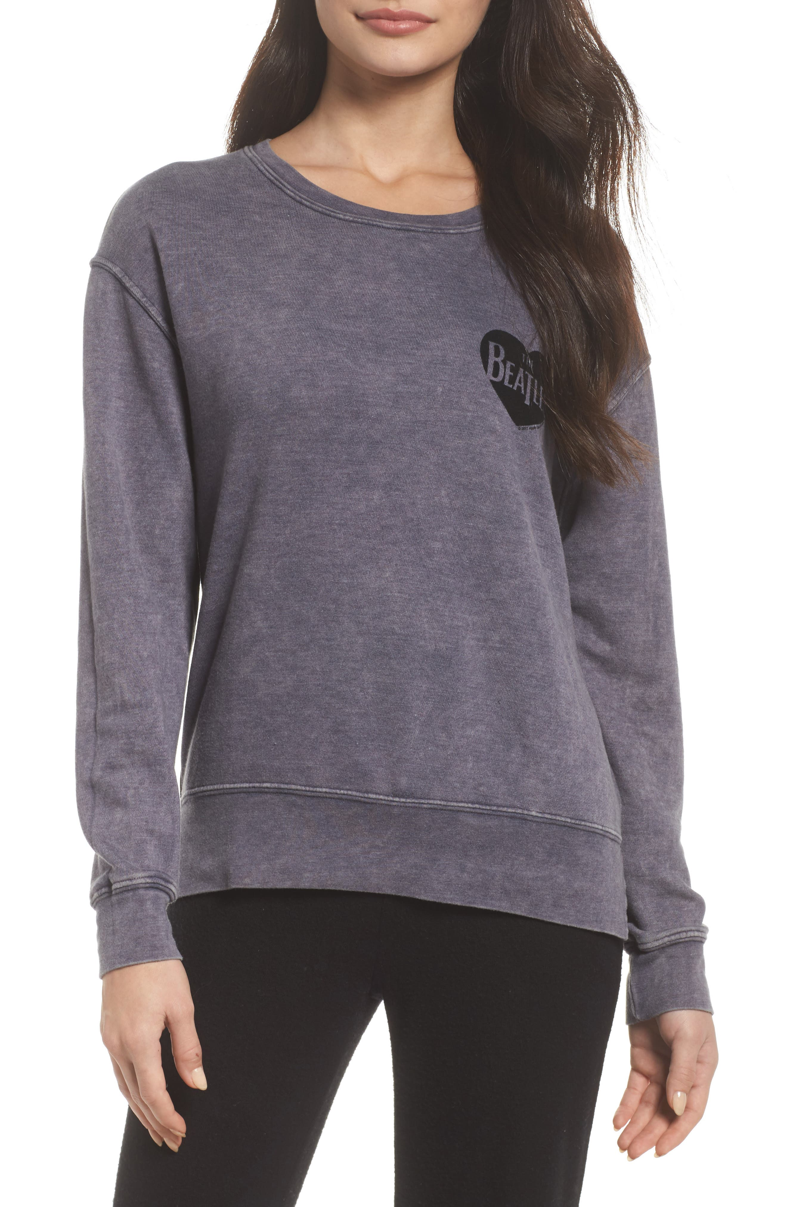 Beatles Pullover,                         Main,                         color, Night Blue