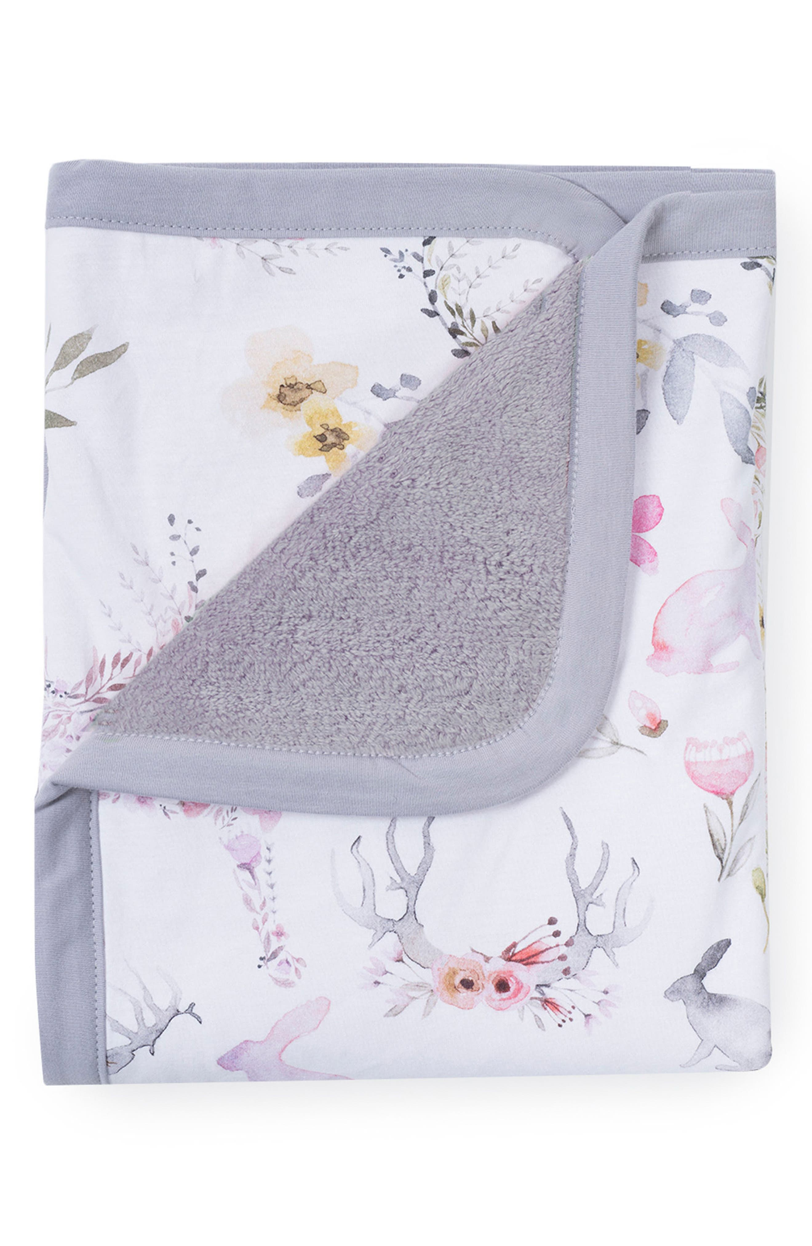 Alternate Image 3  - Oilo Fawn Cuddle Blanket & Star Pillow Set
