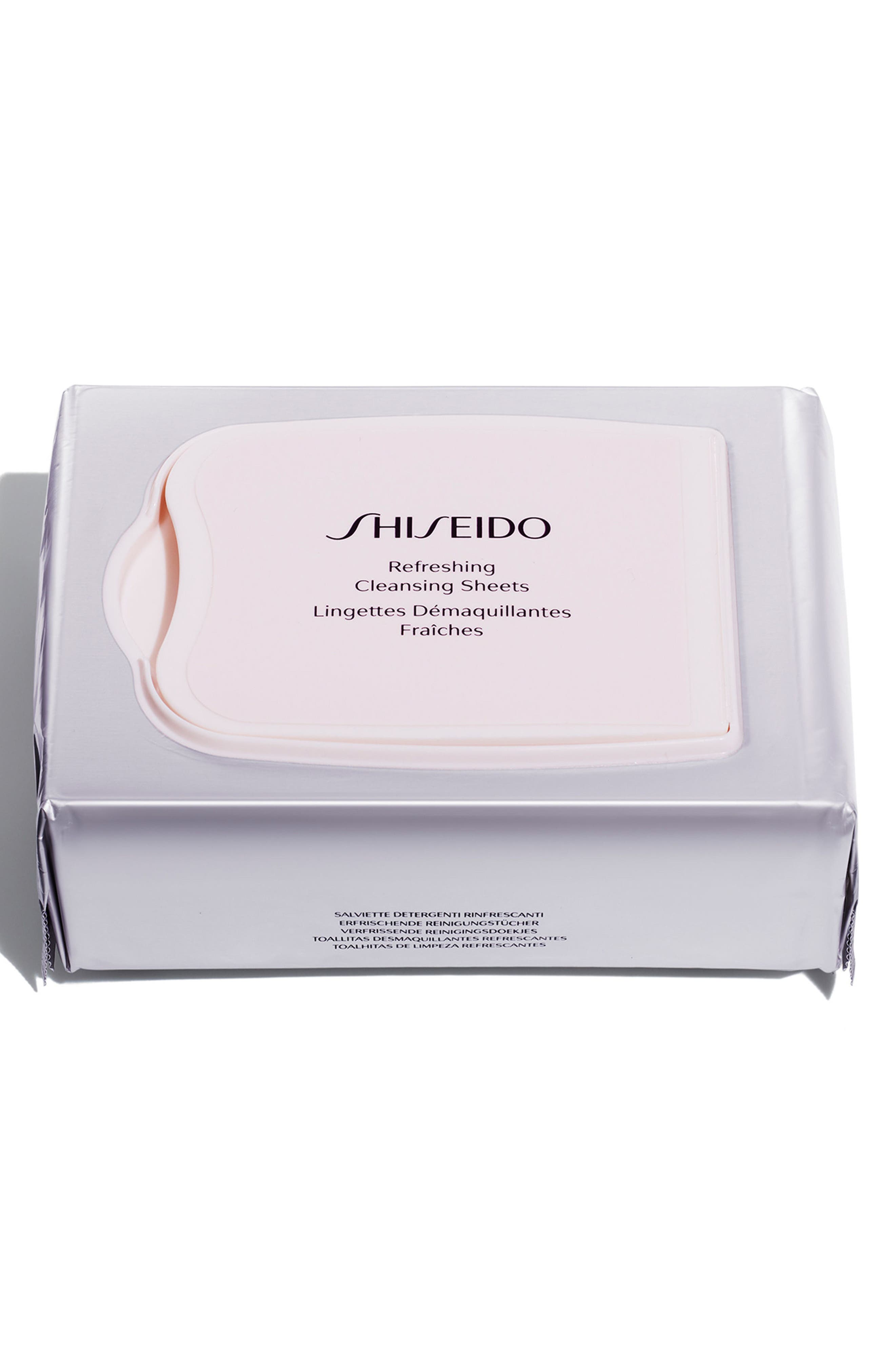 Alternate Image 1 Selected - Shiseido Refreshing Cleansing Sheets
