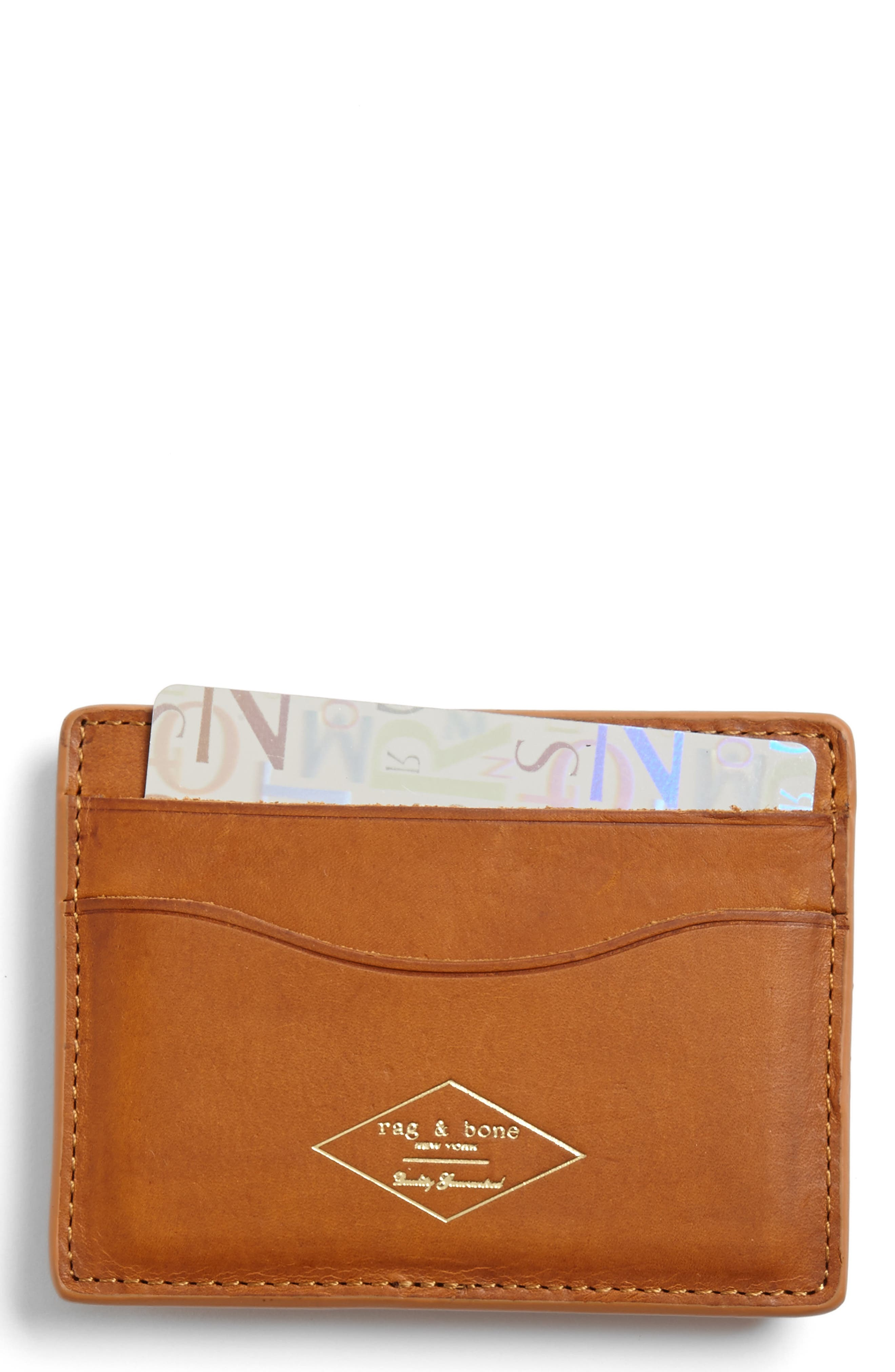 rag & bone Leather Card Case