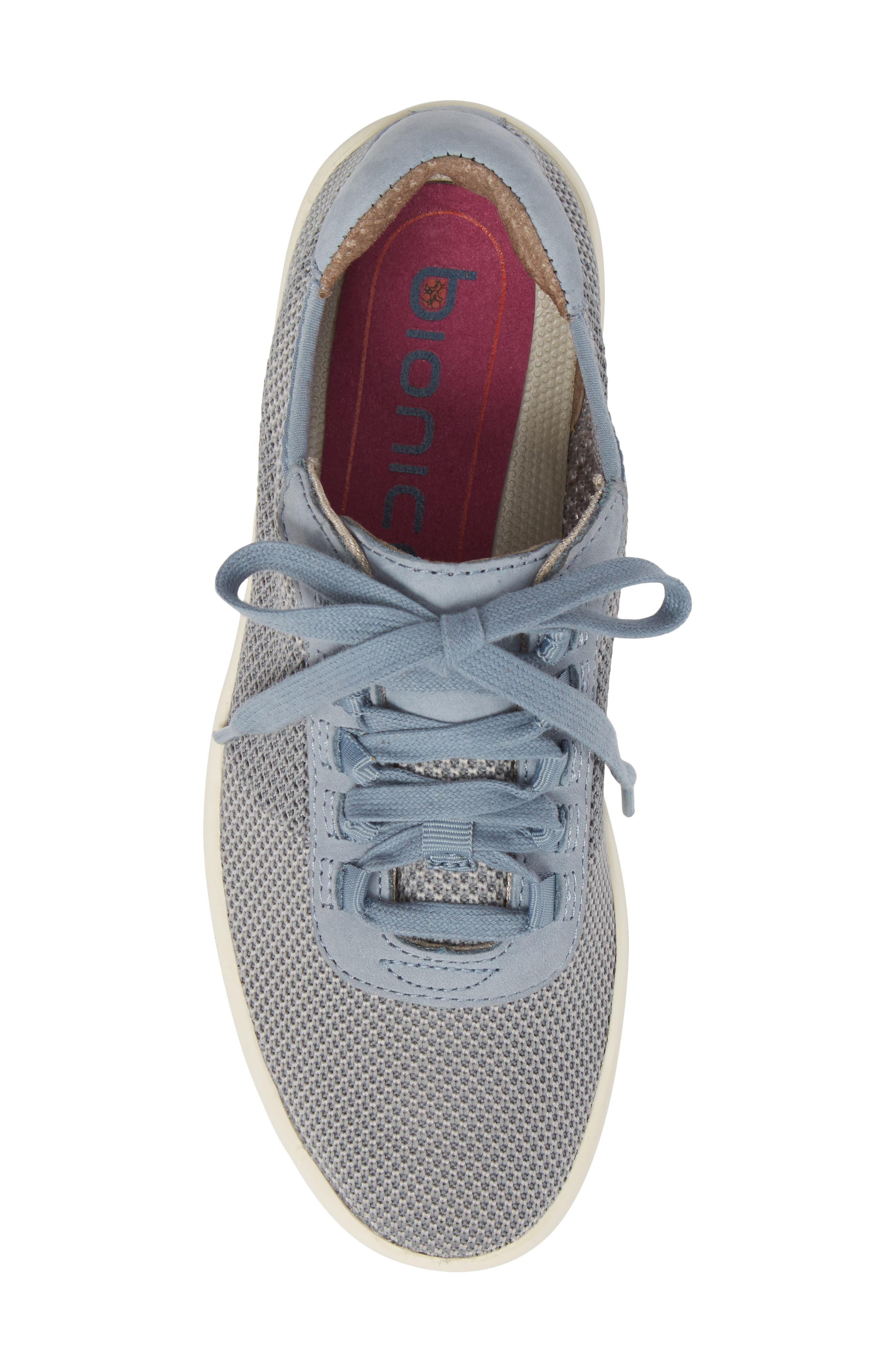 Malibu Sneaker,                             Alternate thumbnail 5, color,                             Chambray Grey Knit Fabric