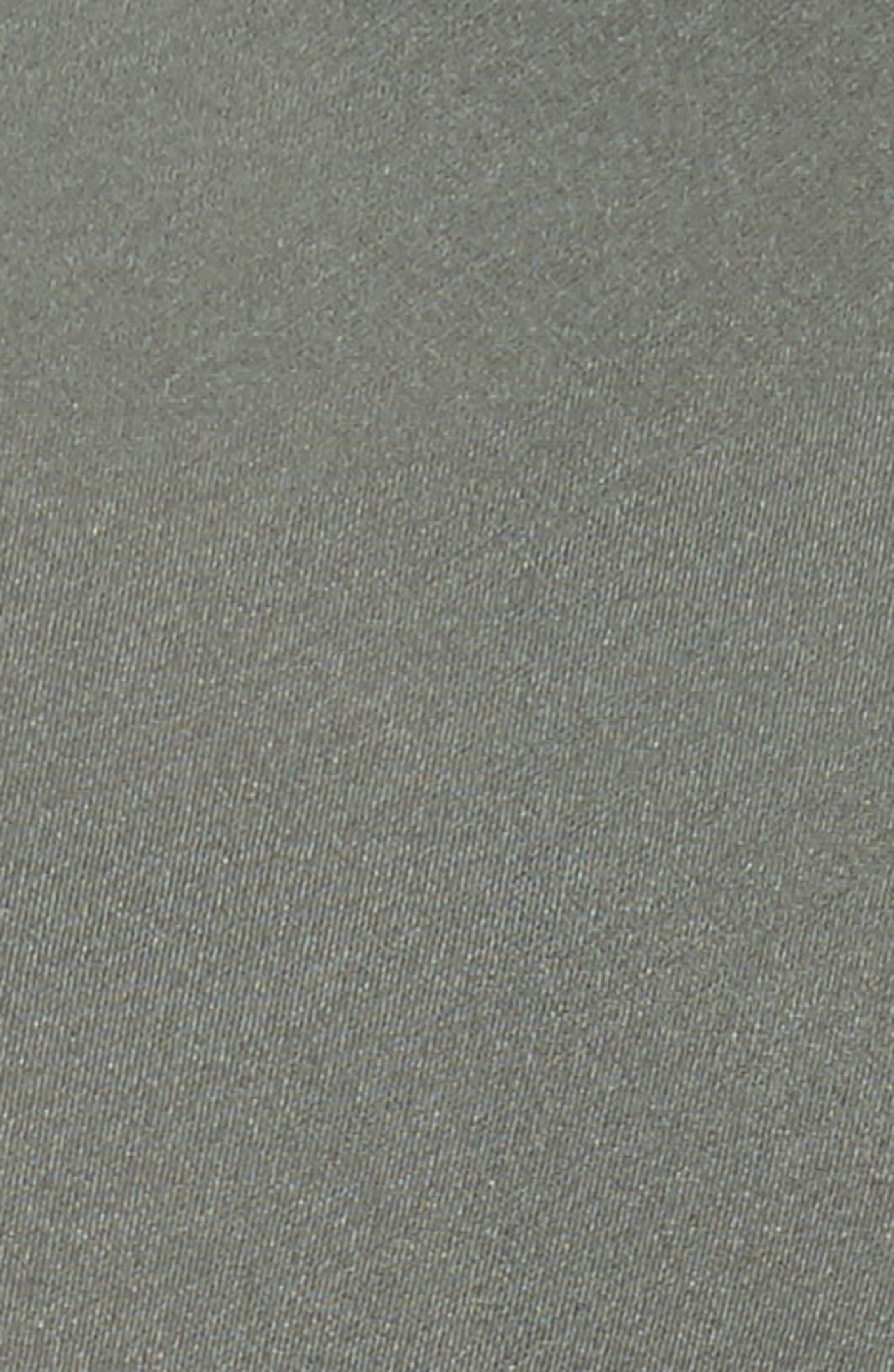 Silk Chiffon Midi Skirt,                             Alternate thumbnail 5, color,                             Sage