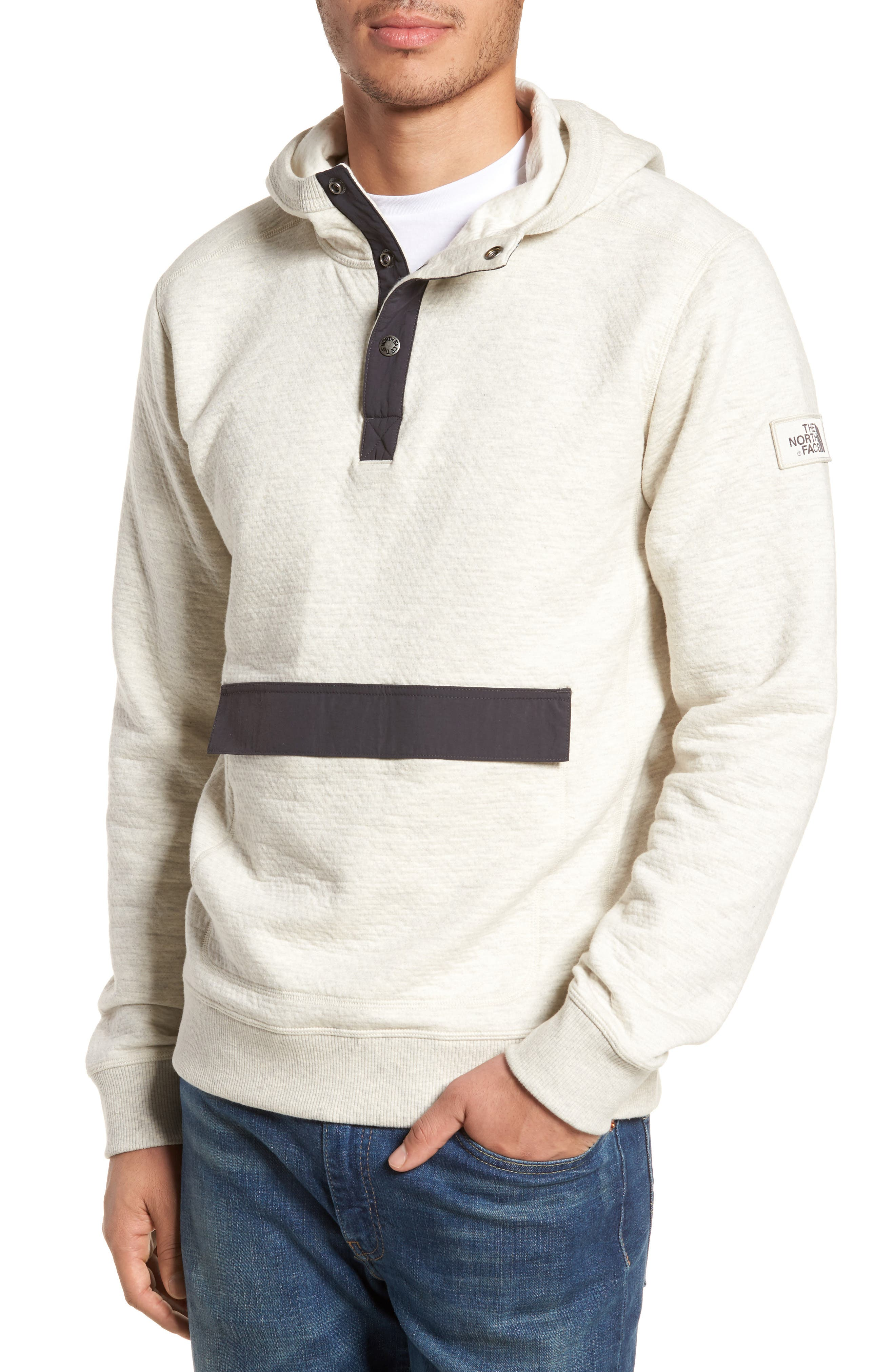 Re-Source Hoodie,                         Main,                         color, Wild Oat Heather
