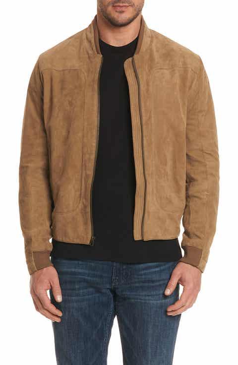 Men's Brown Bomber, Flight & Varsity Jackets | Nordstrom