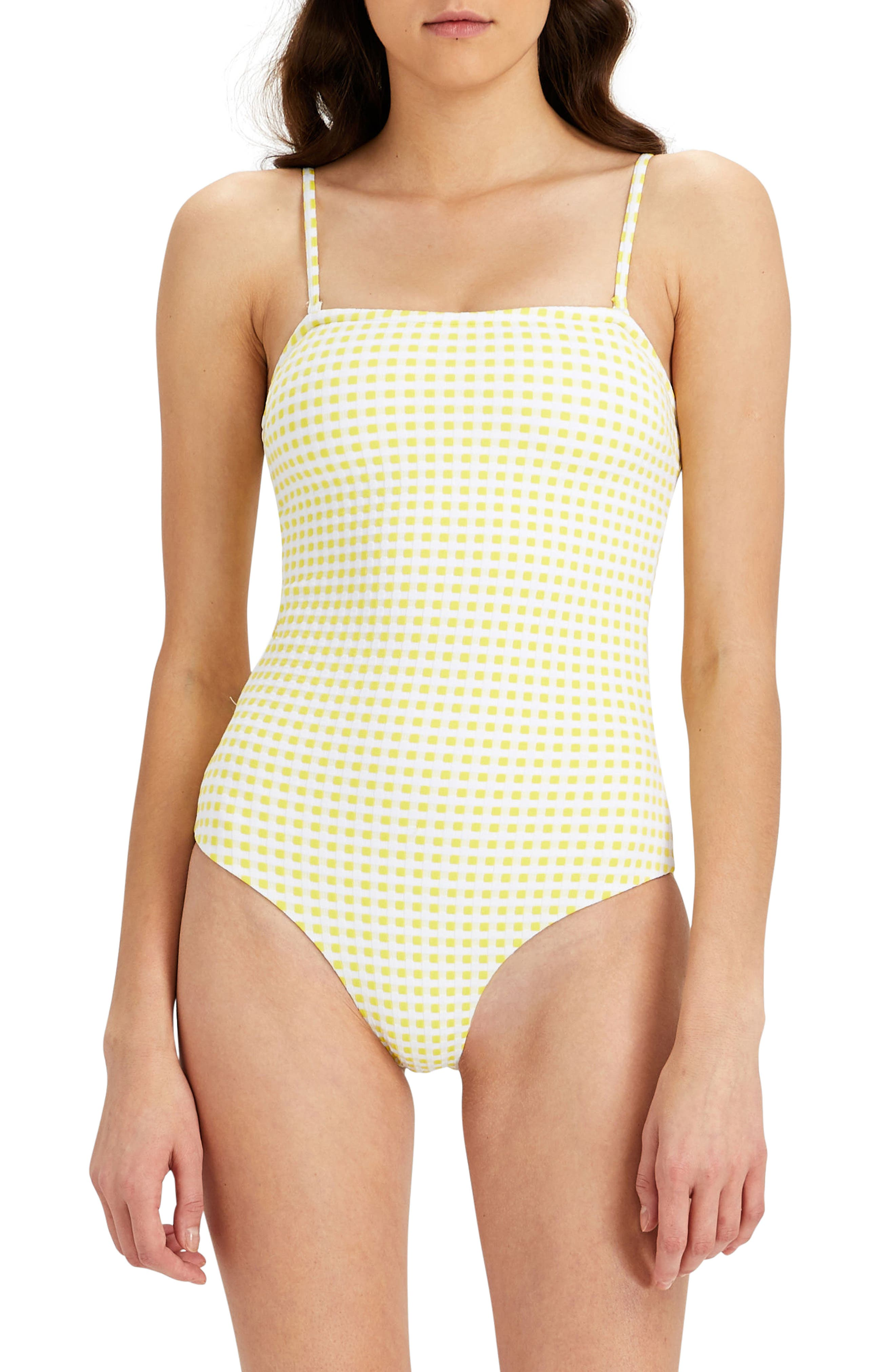 Alternate Image 2  - Onia Estelle Convertible One-Piece Swimsuit