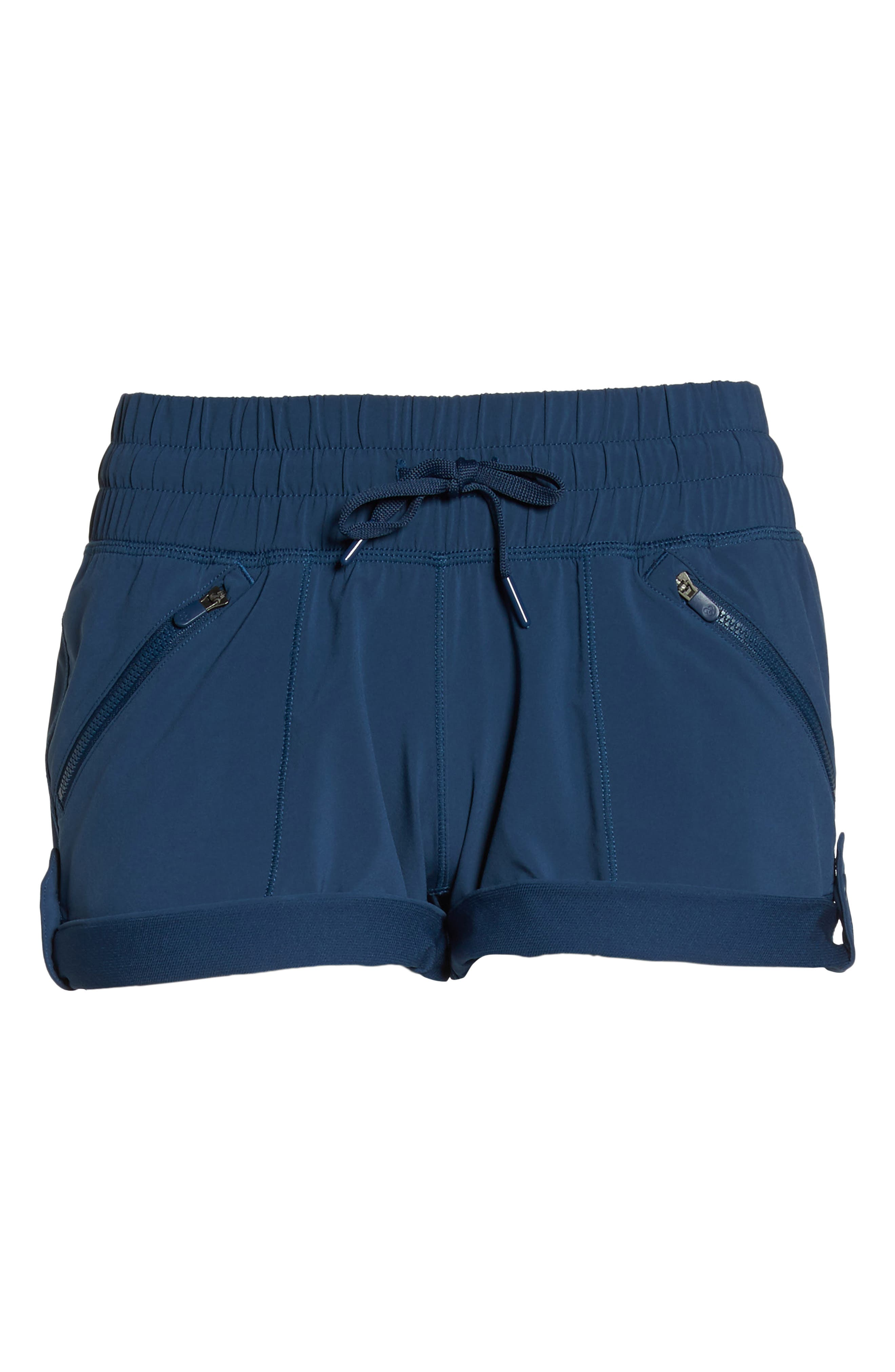 Switchback Shorts,                             Alternate thumbnail 7, color,                             Blue Insignia